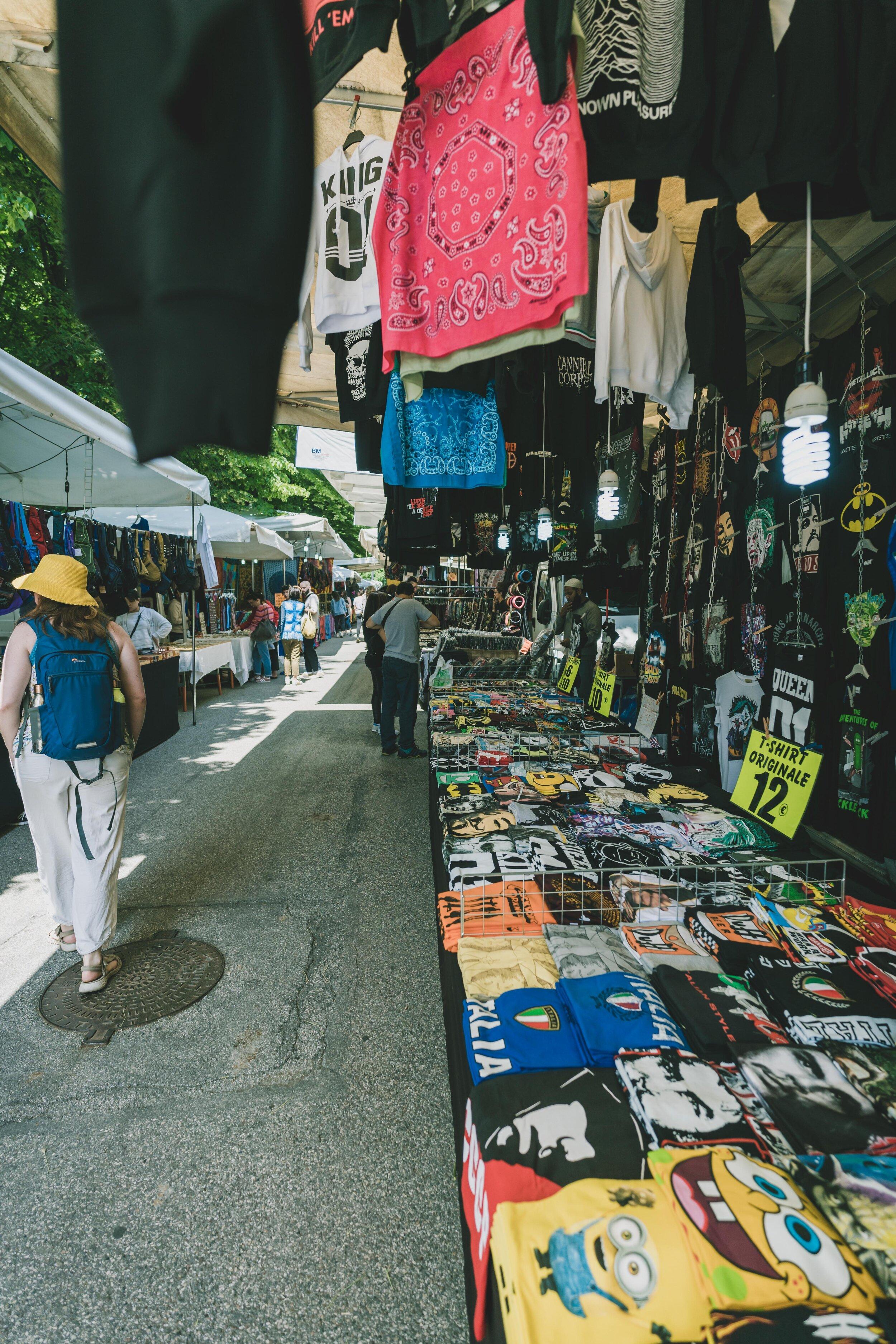 t shirts for sale in flea market.jpg