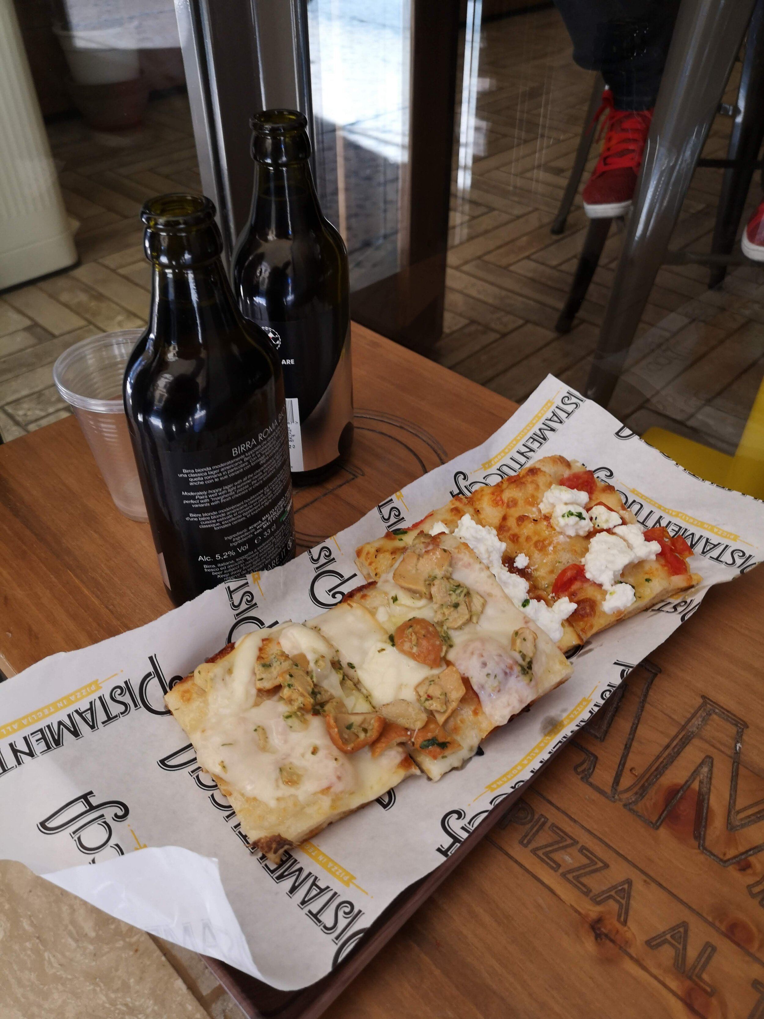 pizza and beer in italy.jpg