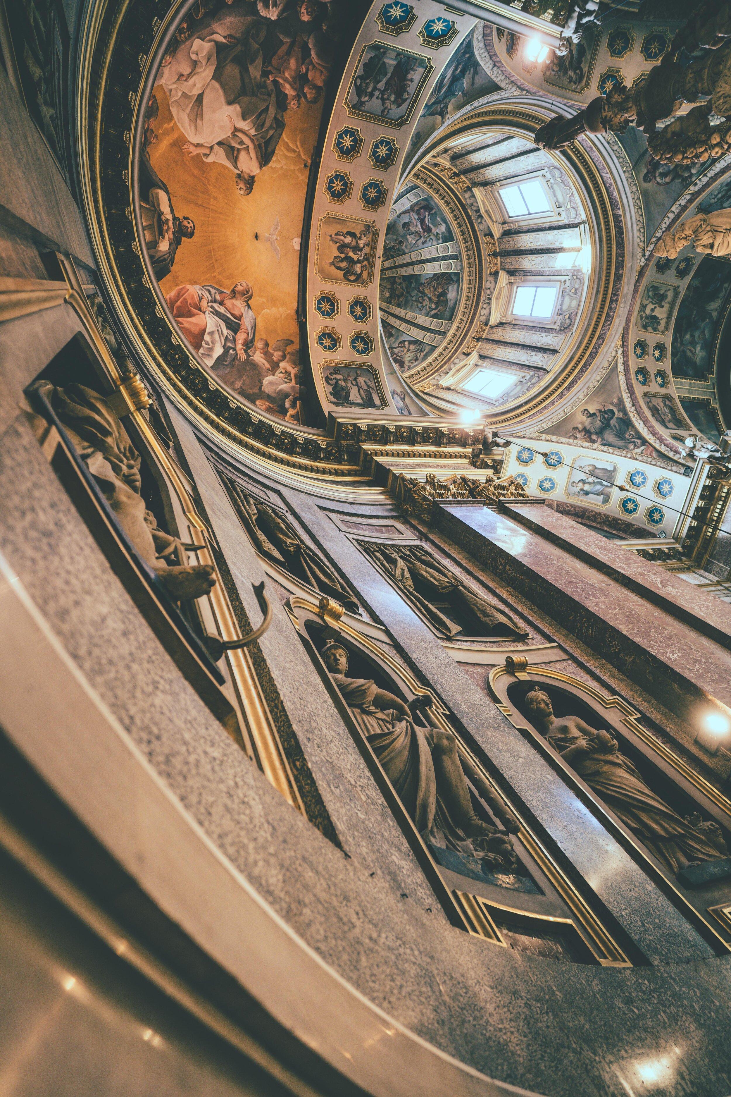 bologna st dominic michelangelo roof painting.jpg