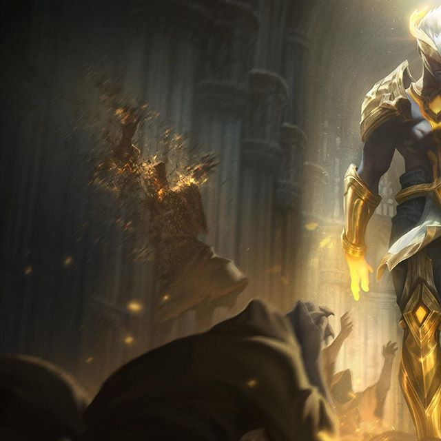 Arclight Brand! ✨Here's the panoramic shot plus a better resolution of the close-up, since IG messed up the compression of previous post! 😤...nonetheless, it was a pleasure painting the lighting in this one, hope you like it! 🙏 #arclight #brand #arclightbrand #riot #riotgames #leagueoflegends #lol #rito #ritopls #splash #splashart #alvinlee #alvinleeart