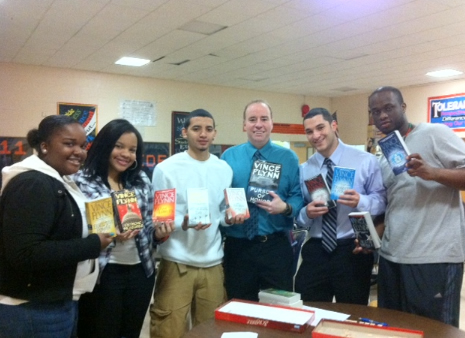 Scott and his students - Spring Valley High School.jpg