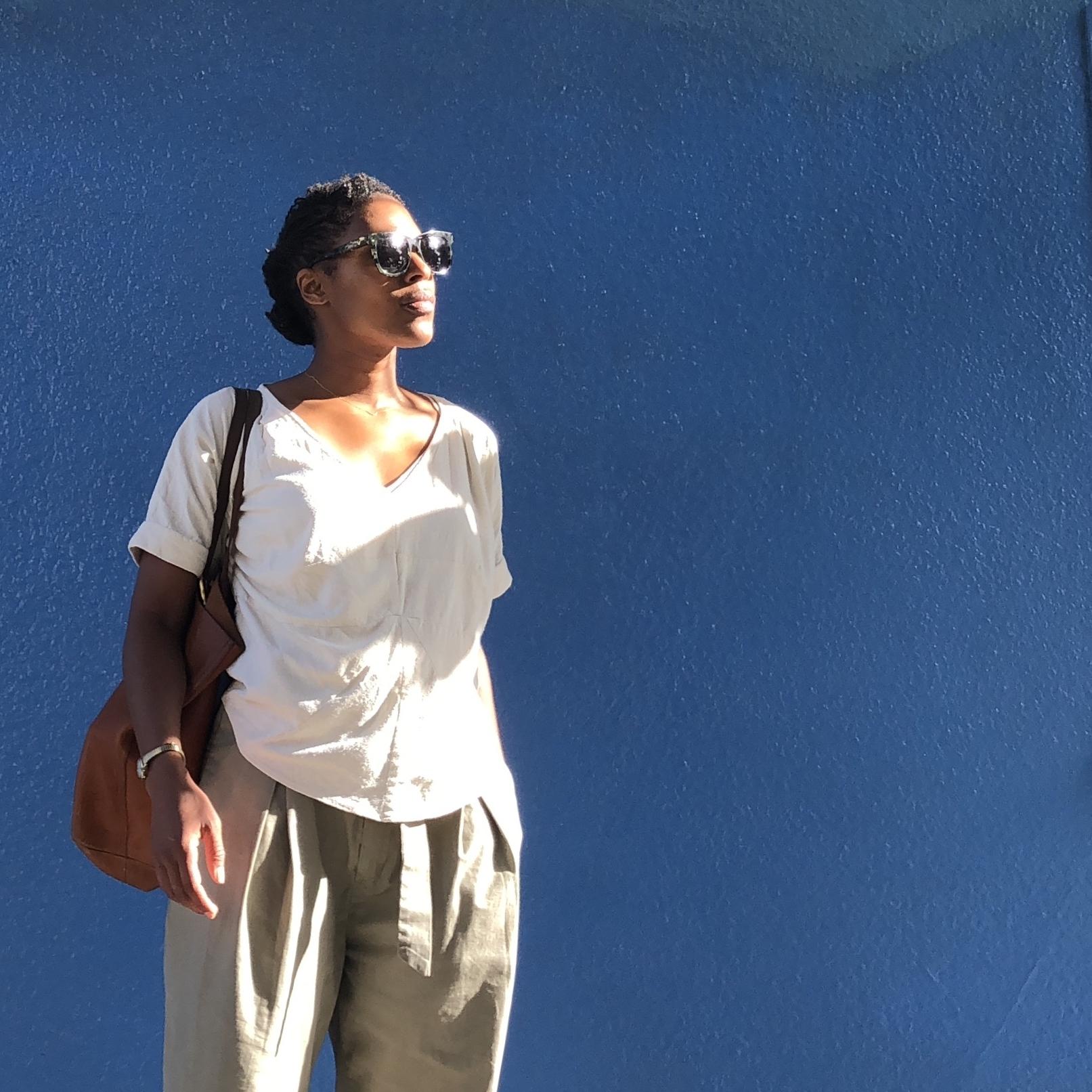 Rachel Comey navigator top | Vogue 1247