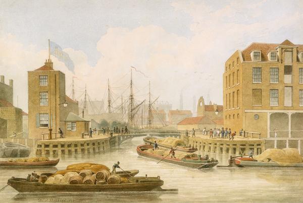 Regent's Canal, Limehouse (1823)