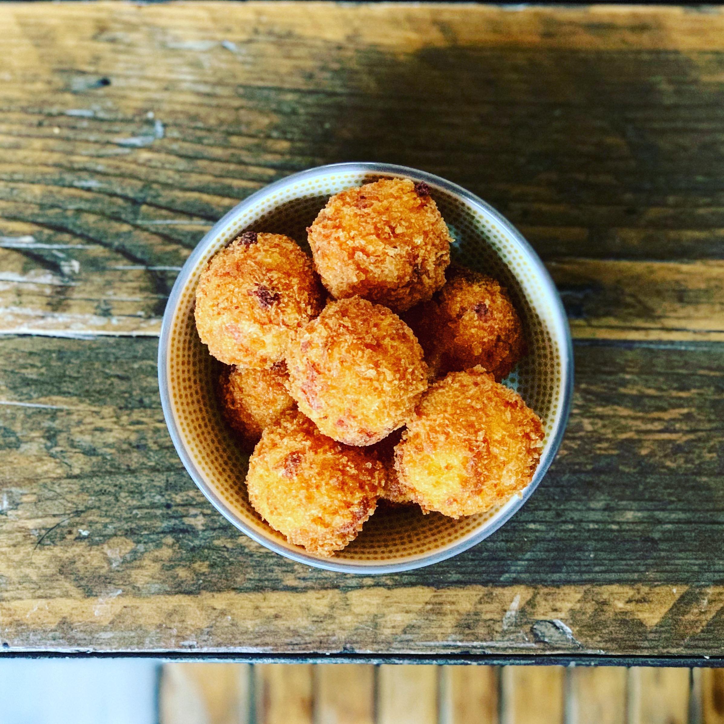 Cheesy Polenta Fritters.JPG