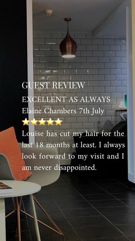 excellent haircut