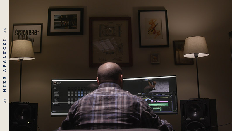 Editor / Producer - Mike Apalucci