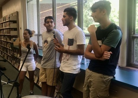 These Teens Hanging Out Are From Syria, Iraq...and New Jersey - Check out Matt Katz from WNYC capturing the V2V teens' experience building bridges of understanding and friendship.Aug 21, 2017 • by Matt Katz
