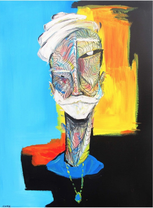 Raphael Federici, Serendipity, Courtesy McLoughlin Gallery