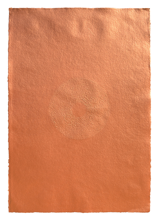 Mohammed Kazem,    Acrylic on Scratched Paper (Copper) , 2008, Courtesy the artist and Aicon gallery