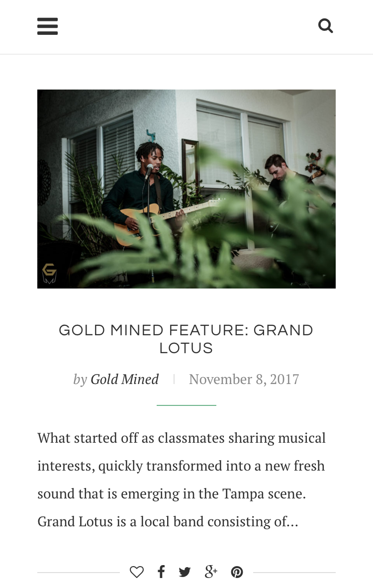 CLICK AND CHECK OUT THE BANDS FIRST INTERVIEW WITH             GOLD MINED PRODUCTIONS!!