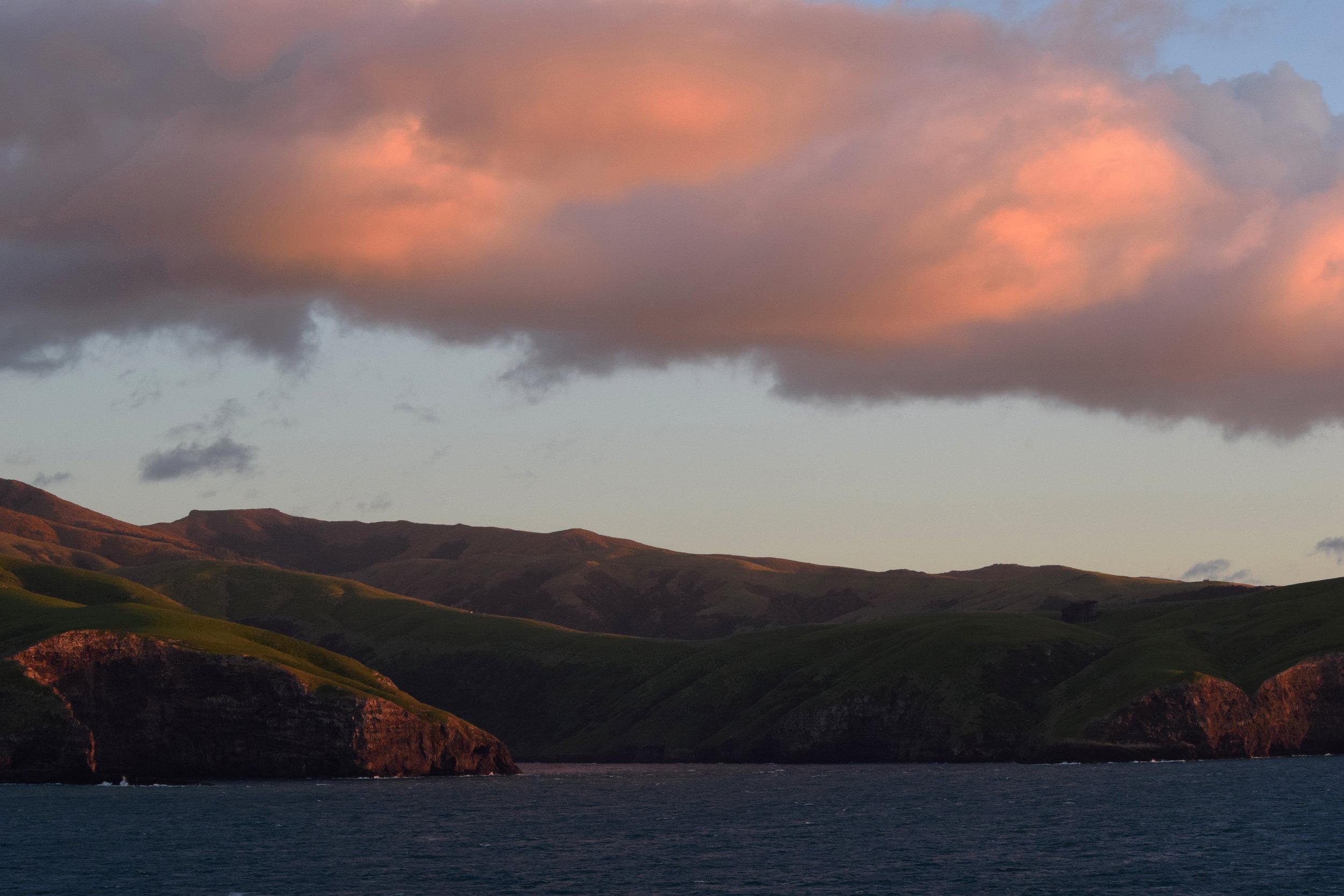 Akaroa Harbor at Sunrise