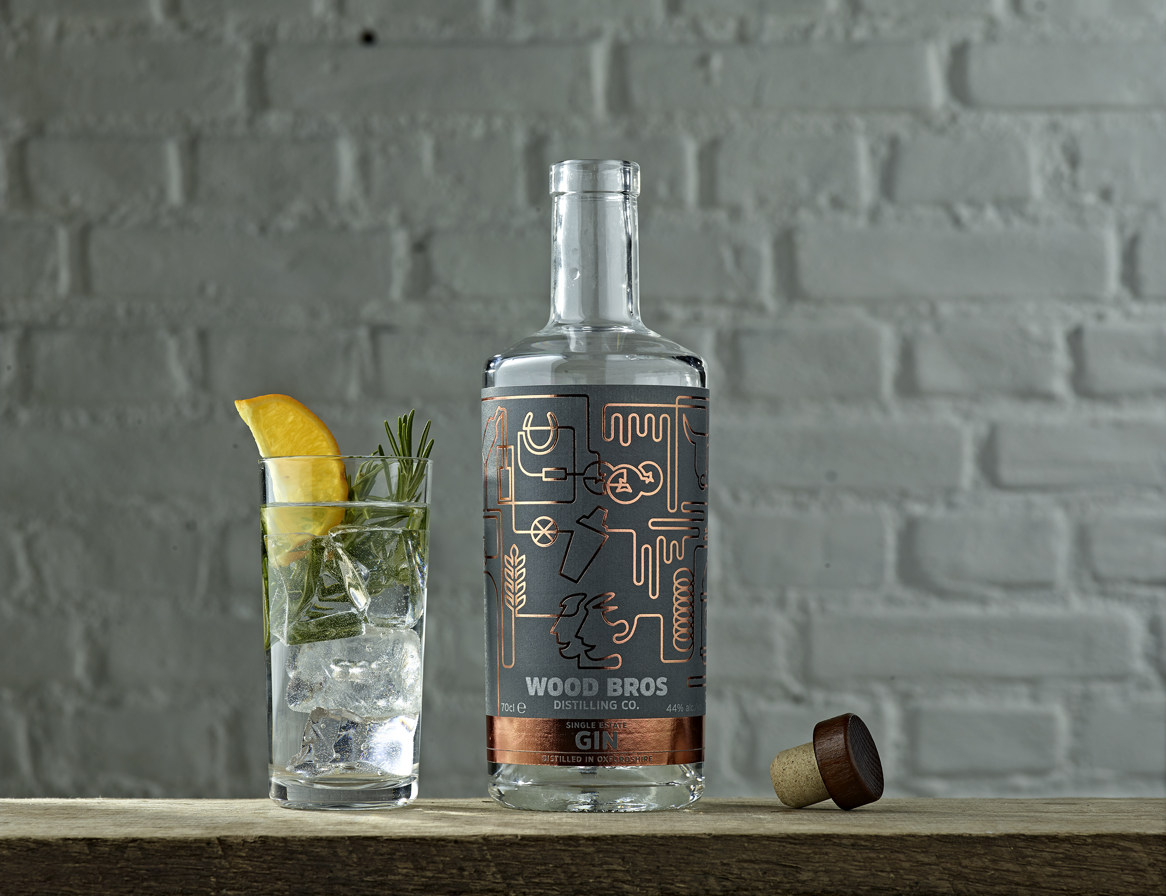 Wood Brothers Single Estate Gin