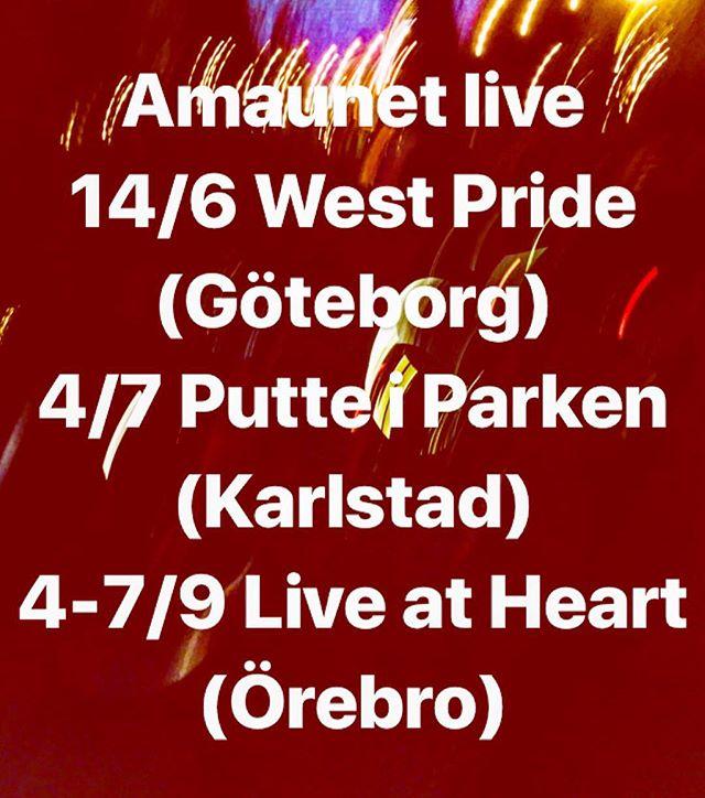 Summerfestival! Hope to see you around this summer ☀️❤️//Amaunet ⭐️ ⭐️ ⭐️ ⭐️ 🤠 ⭐️ ☀️ #summer #independentartist #pop #rock #festival #insta #2019 #summerfestival #love #music #live #livemusic #band #artist #liveshow #bandontherun #tour #summertour2019 #instagram #follow #like #instamusic #followforfollowback #likeforfollow