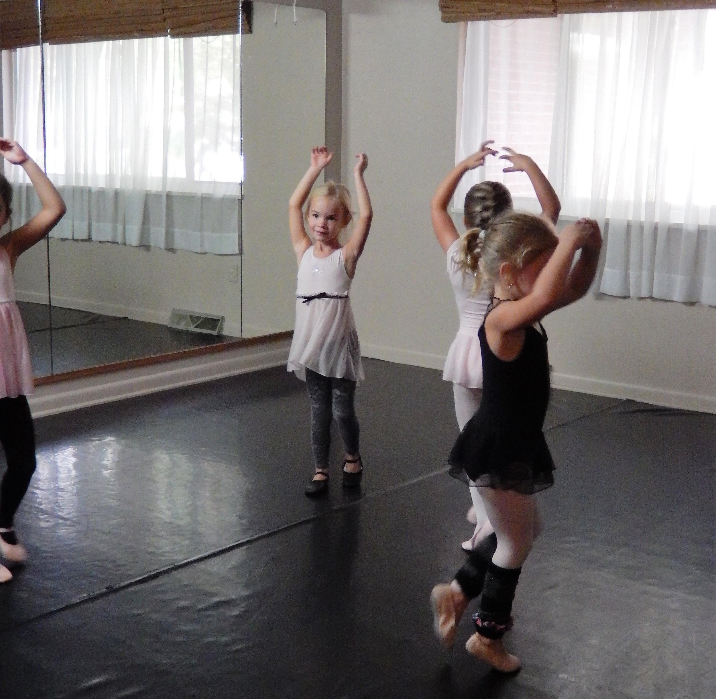 Ballet Dancing Children
