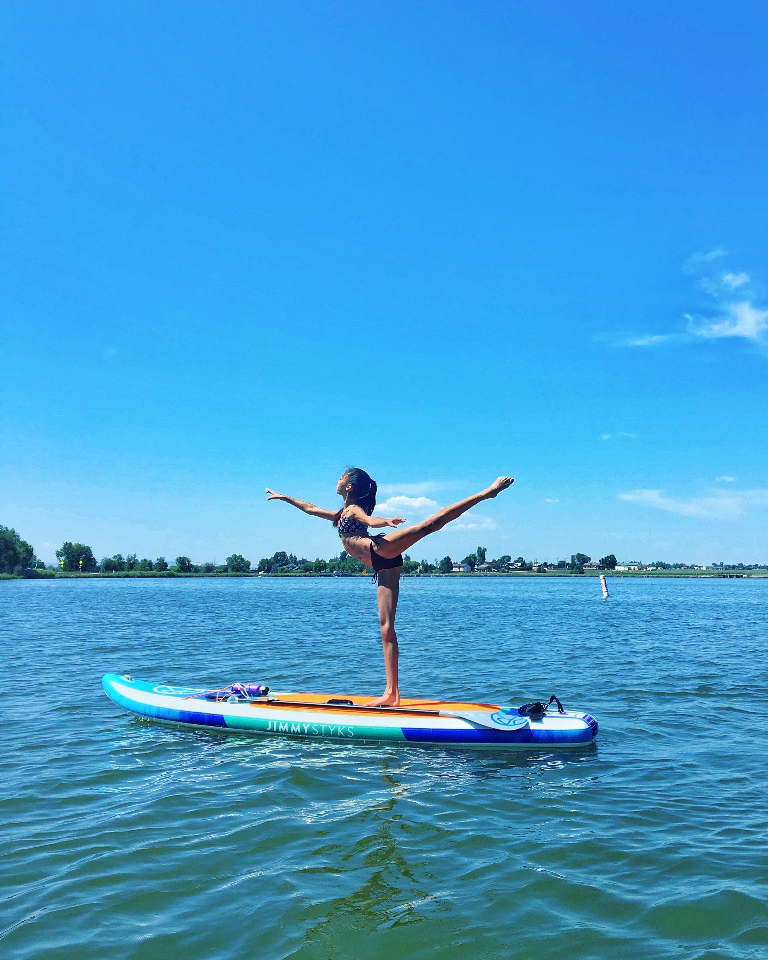 Annalise on Windsor Lake