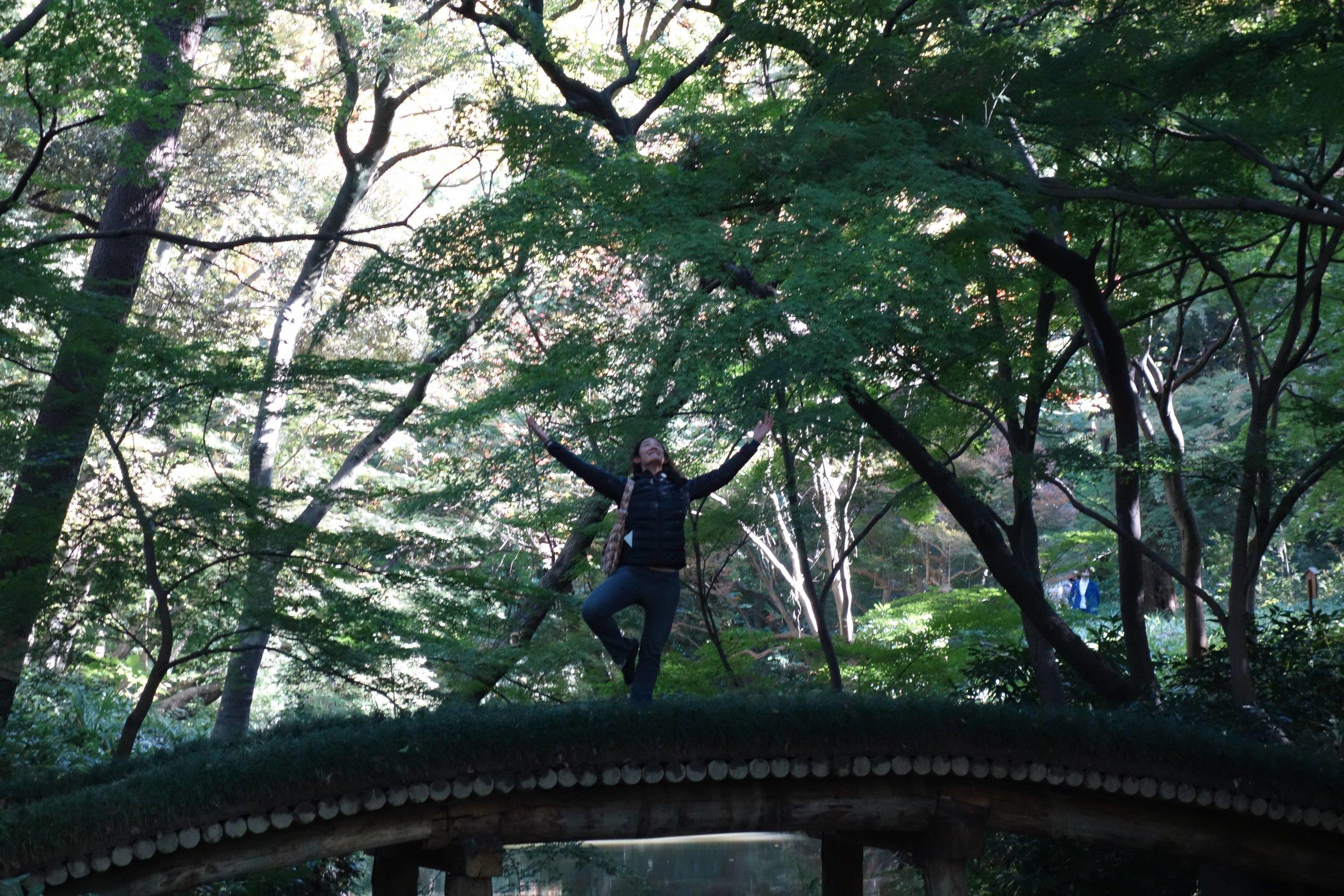 Kim in Tokyo, Japan