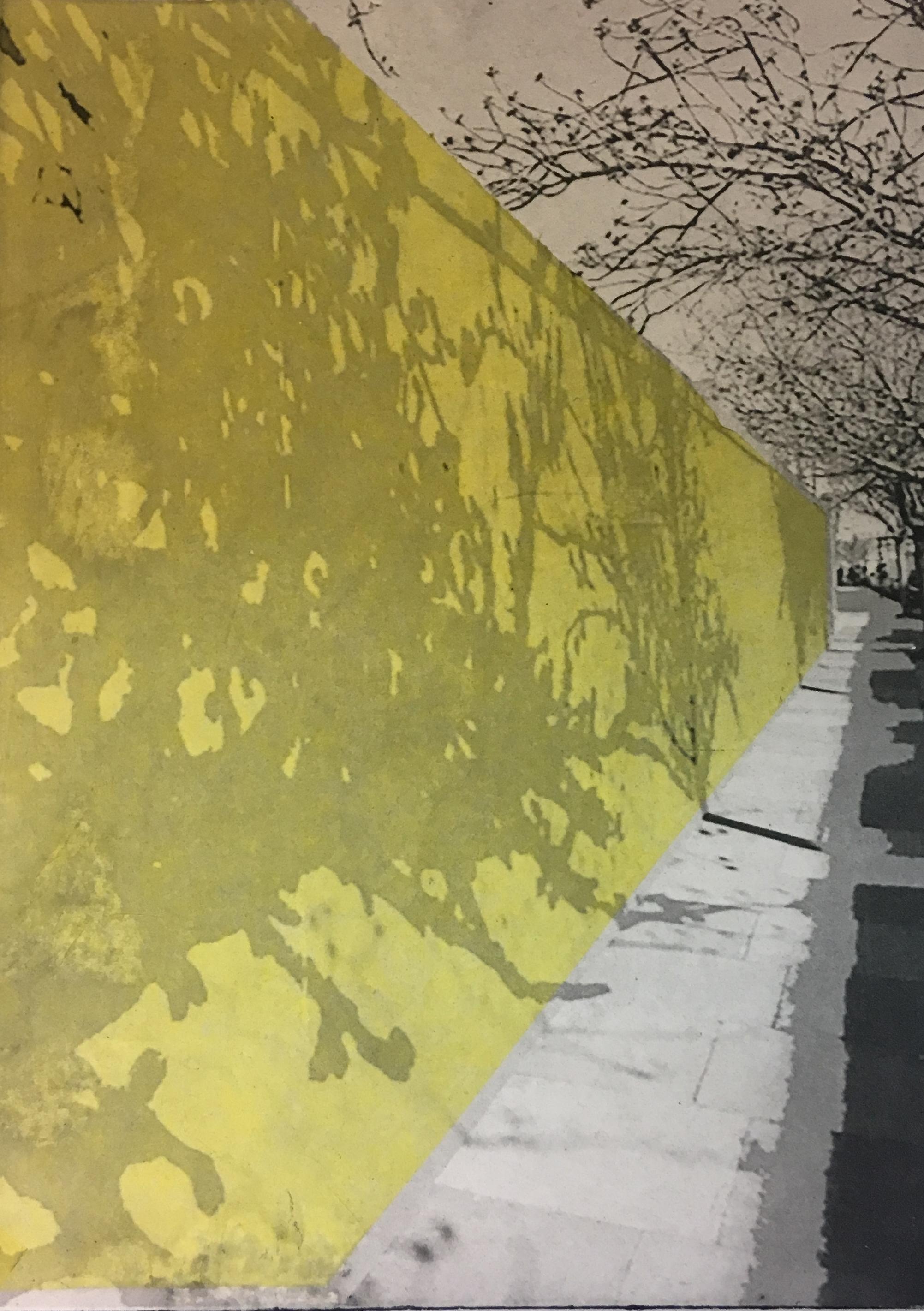 Yellow Hoarding