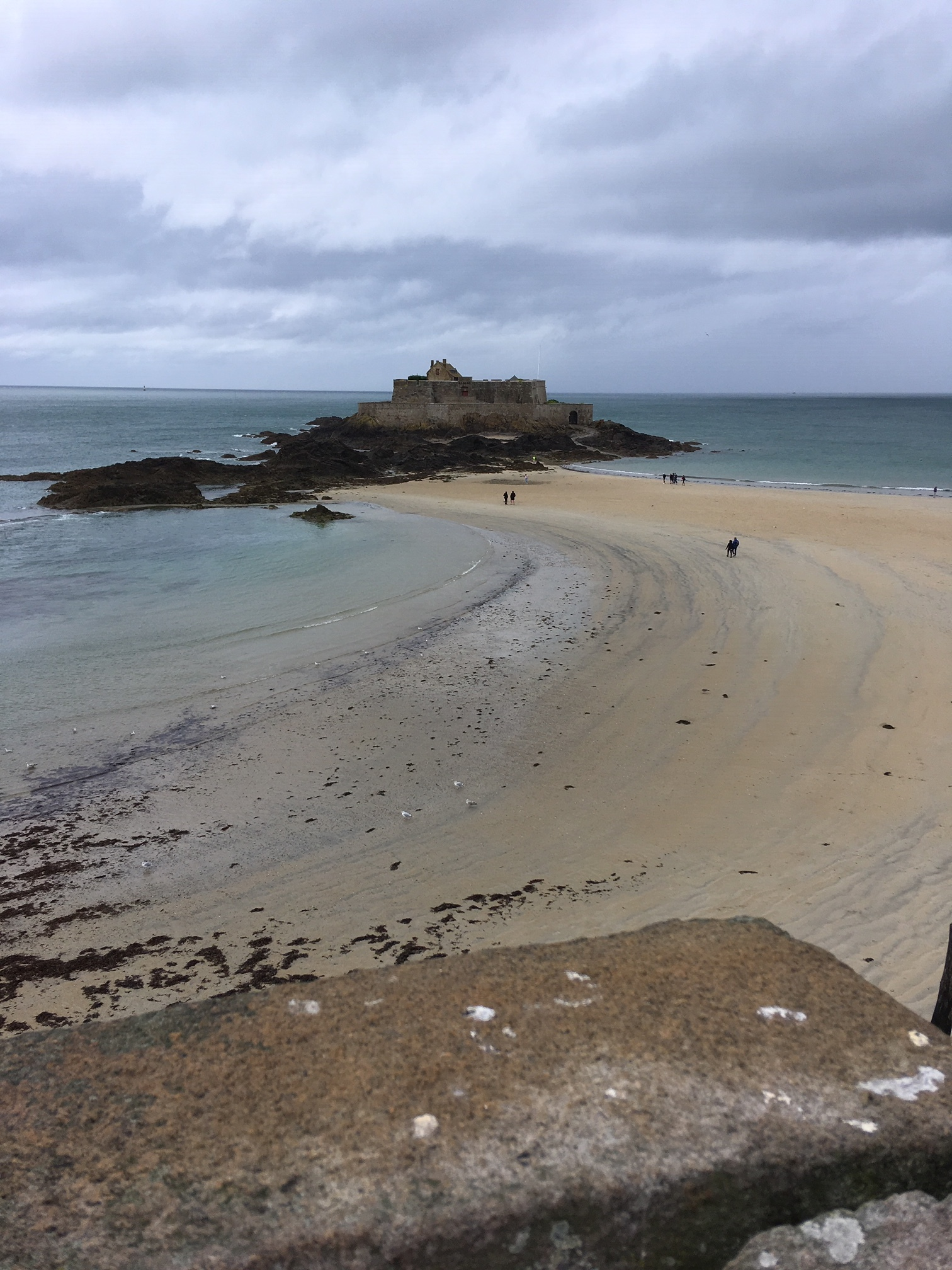 Fort National - St Malo - only accessible at low tide.