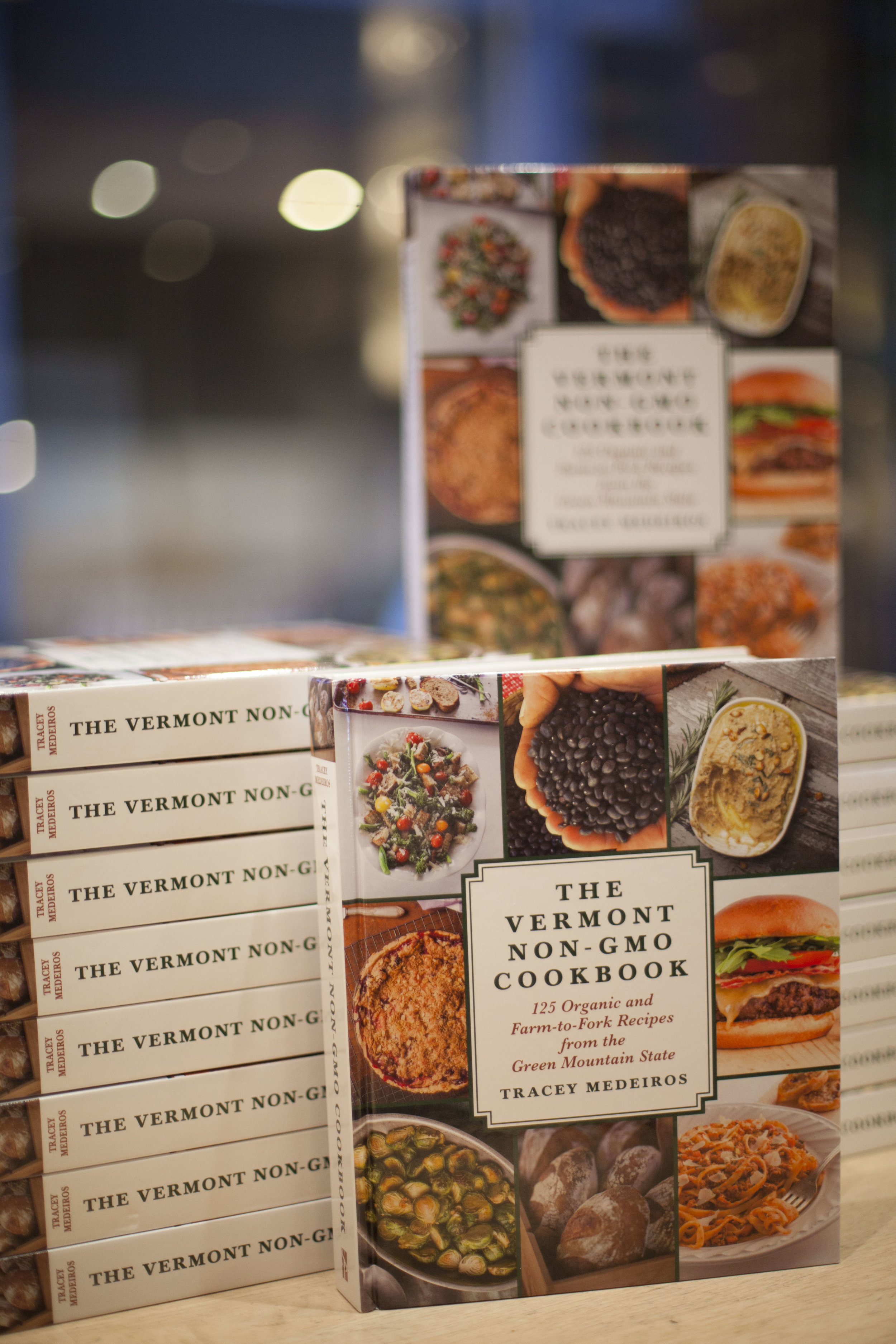 COOKbook Author Series:   The Vermont Non-GMO Cookbook   with Tracey Medeiros on Saturday, November 17, 2018.