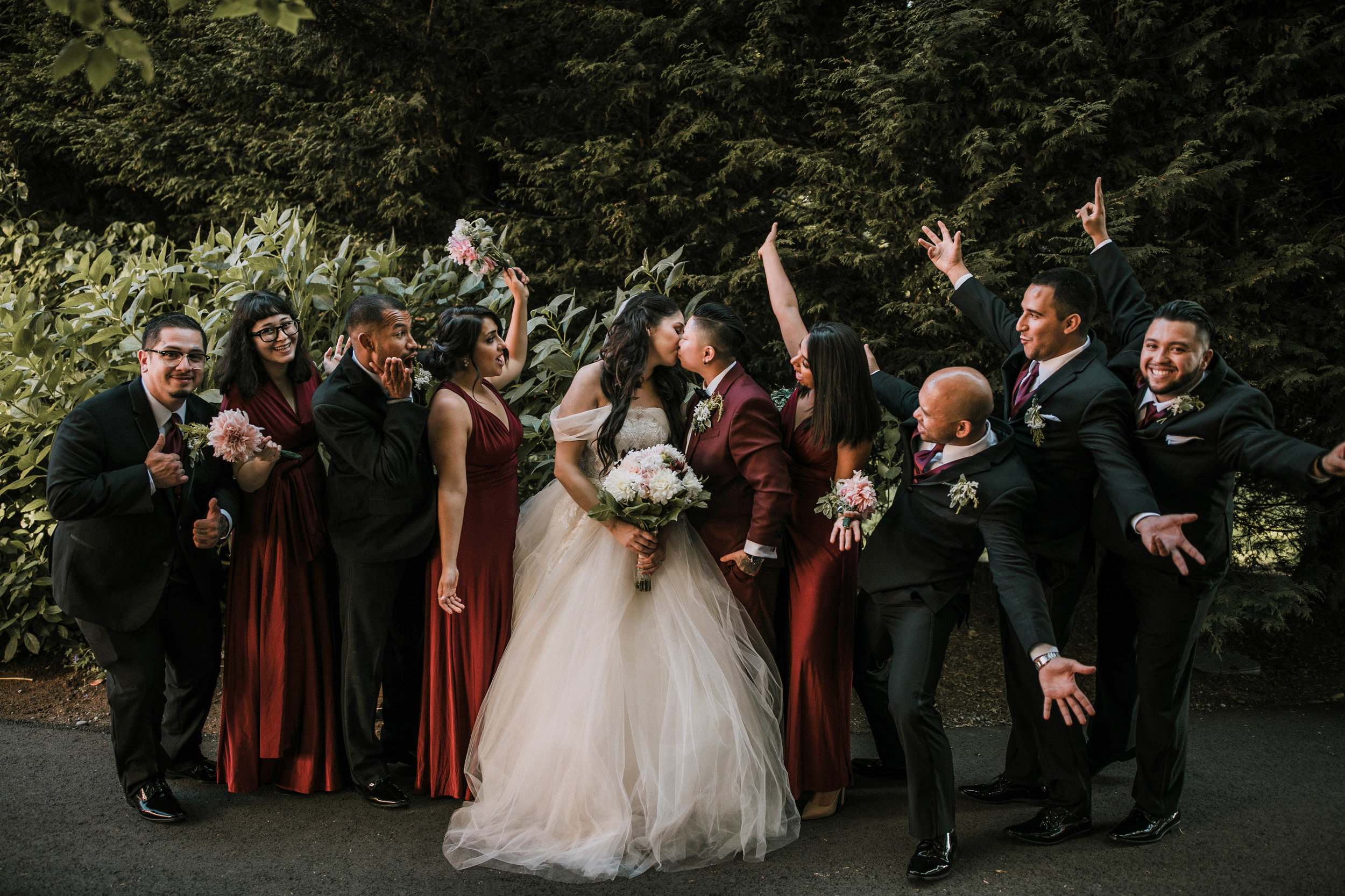 This was our wedding party picture from our recent wedding to the love of my life on Aug 10, 2018.