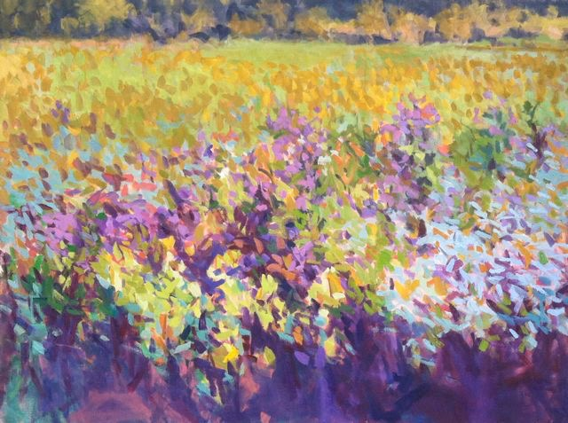 Wild Meadow Autumn SOLD