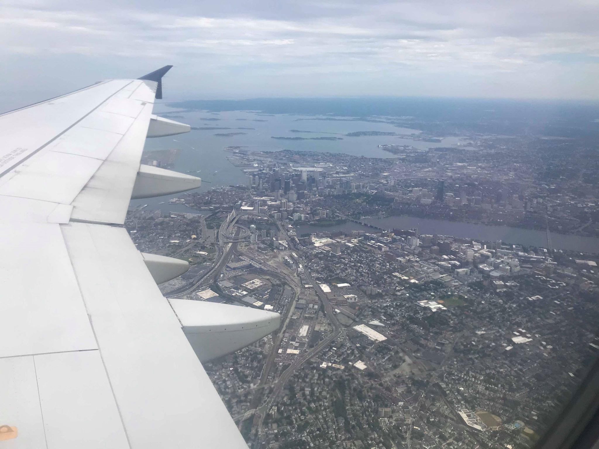 Flying into Boston -Richard Seidlitz