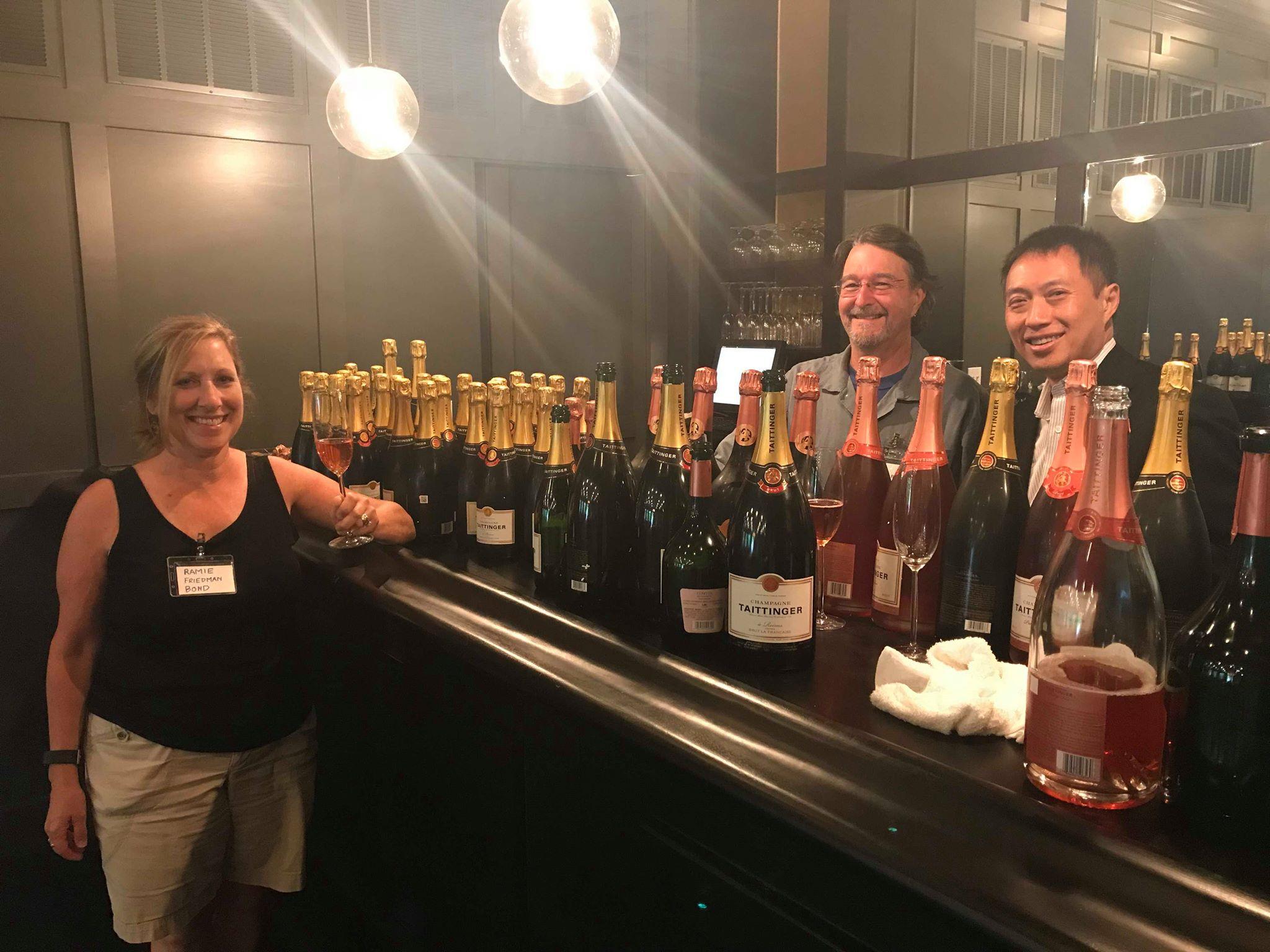 Ramie, David, and Bernie: The Champagneers -Richard Seidlitz