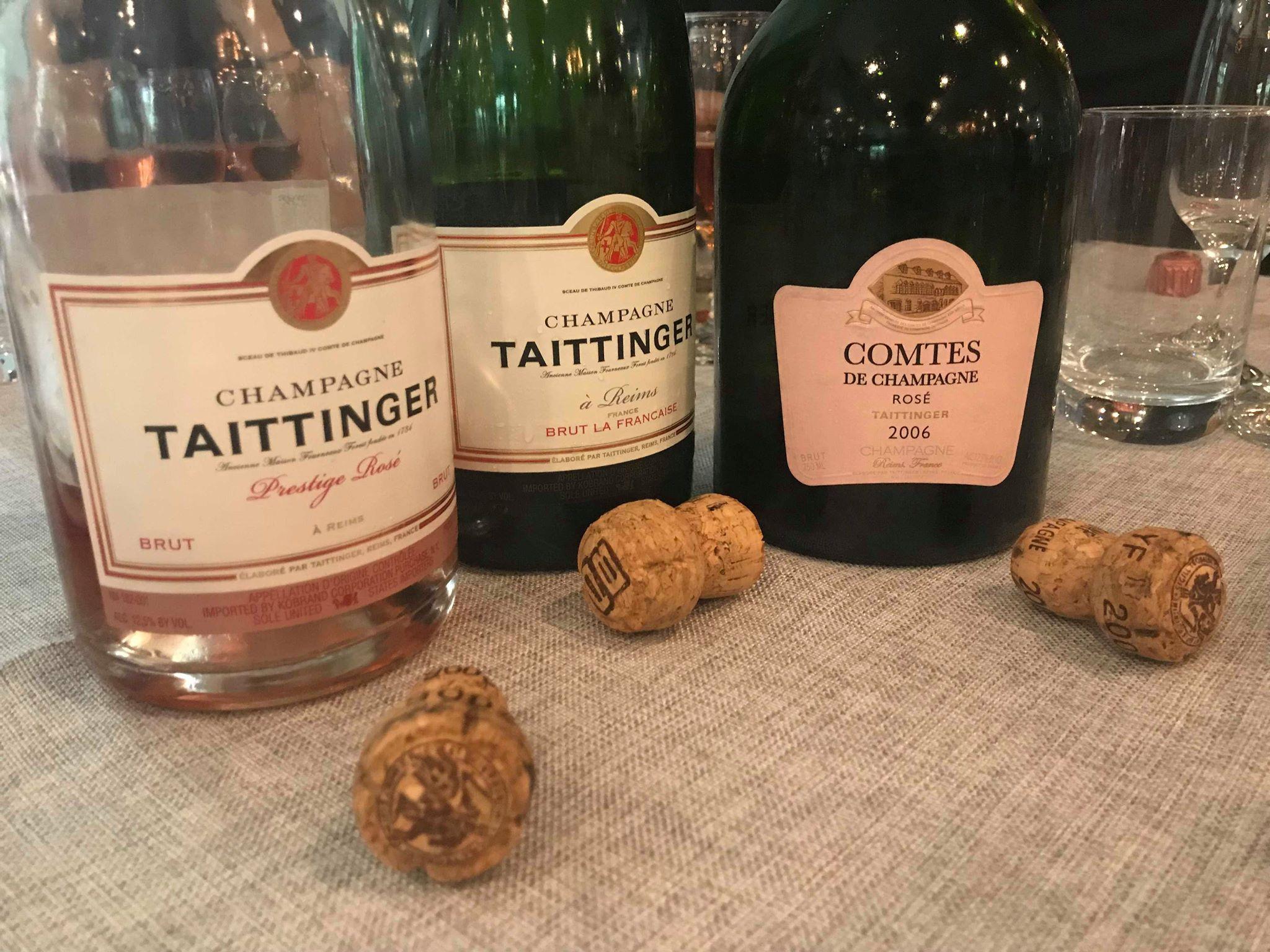 Prestige rosé, Brut la Francaise, 2006 Comtes de Champagne rosé -Richard Seidlitz