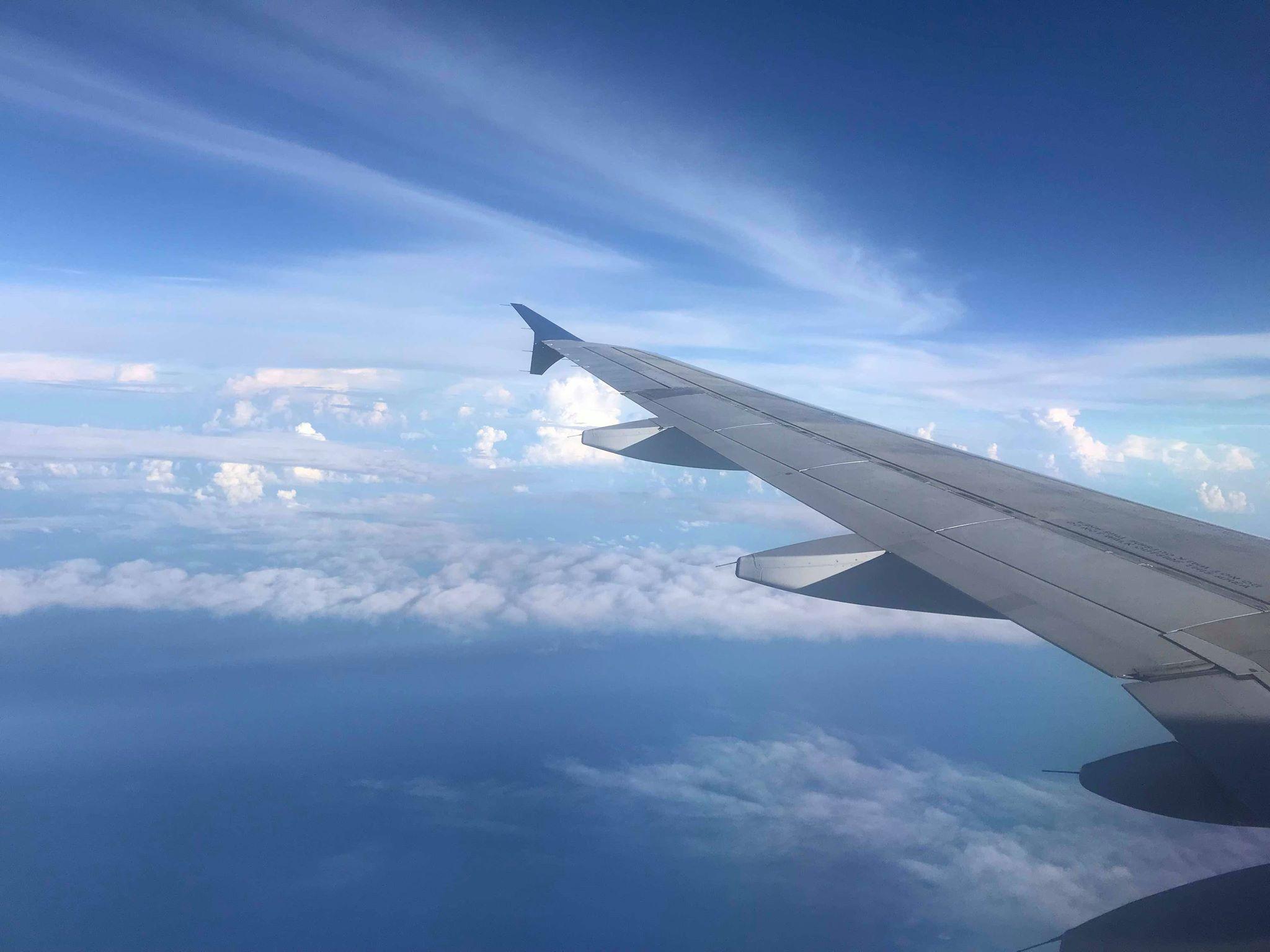 Briefly beautiful blue skies. -Richard Seidlitz