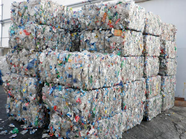 Plastic Bottle Bales