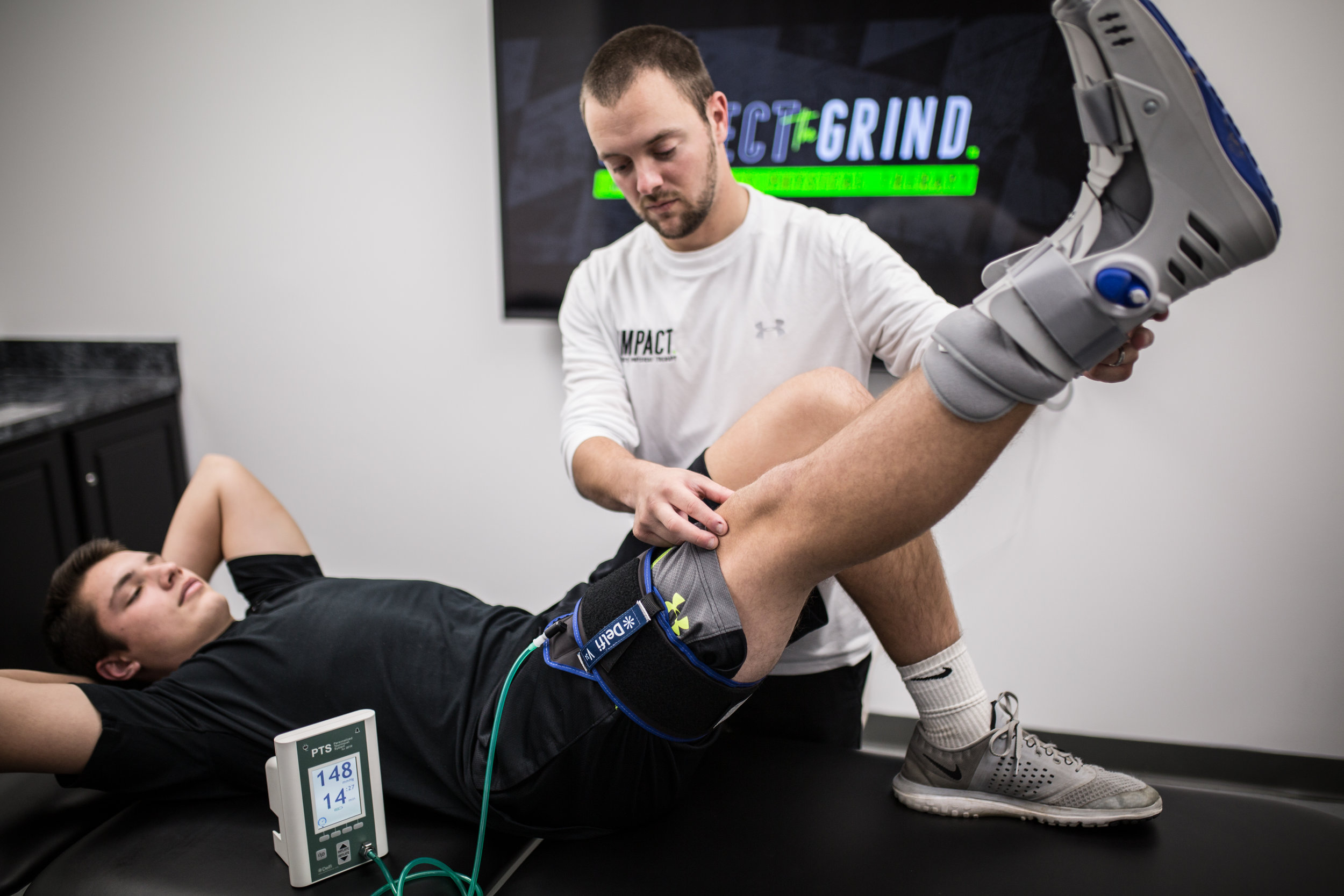 Howard county best sports physical therapy, Baltimore sports physical therapy, sports rehab, Elkridge physical therapy, Columbia physical therapy, ACL rehab, blood flow restriction training, blood flow restriction Baltimore, rehab after surgery