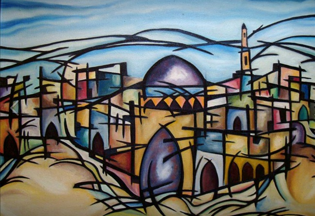Mahmoud Zaid_Untitled_Oil on canvas_ 1982.jpg