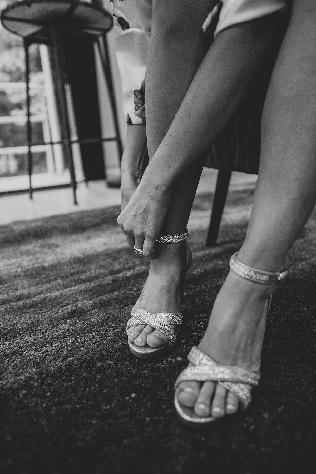 wedding shoes wedding photographer indianapolis hannah bergman photography