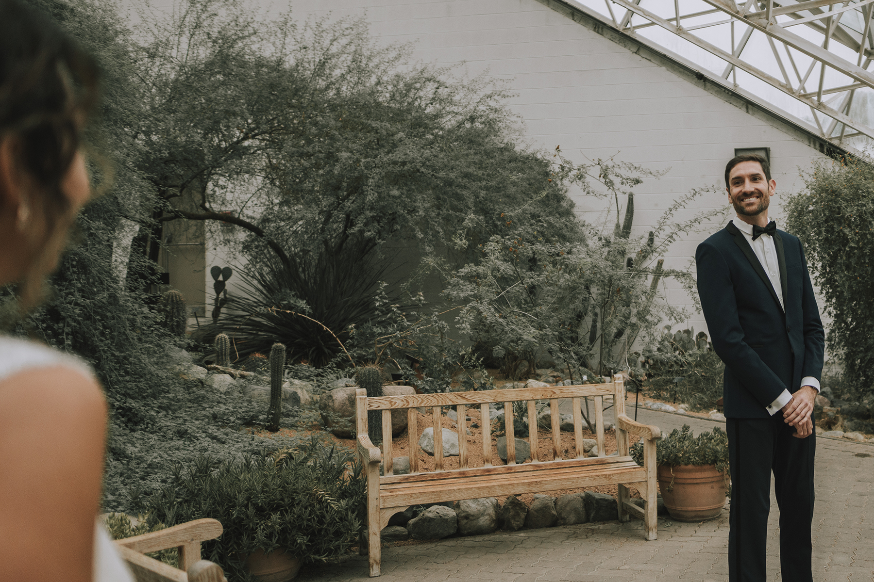 Foellinger-Freimann Botanical Conservatory indianapolis photographer hannah bergman photography first look