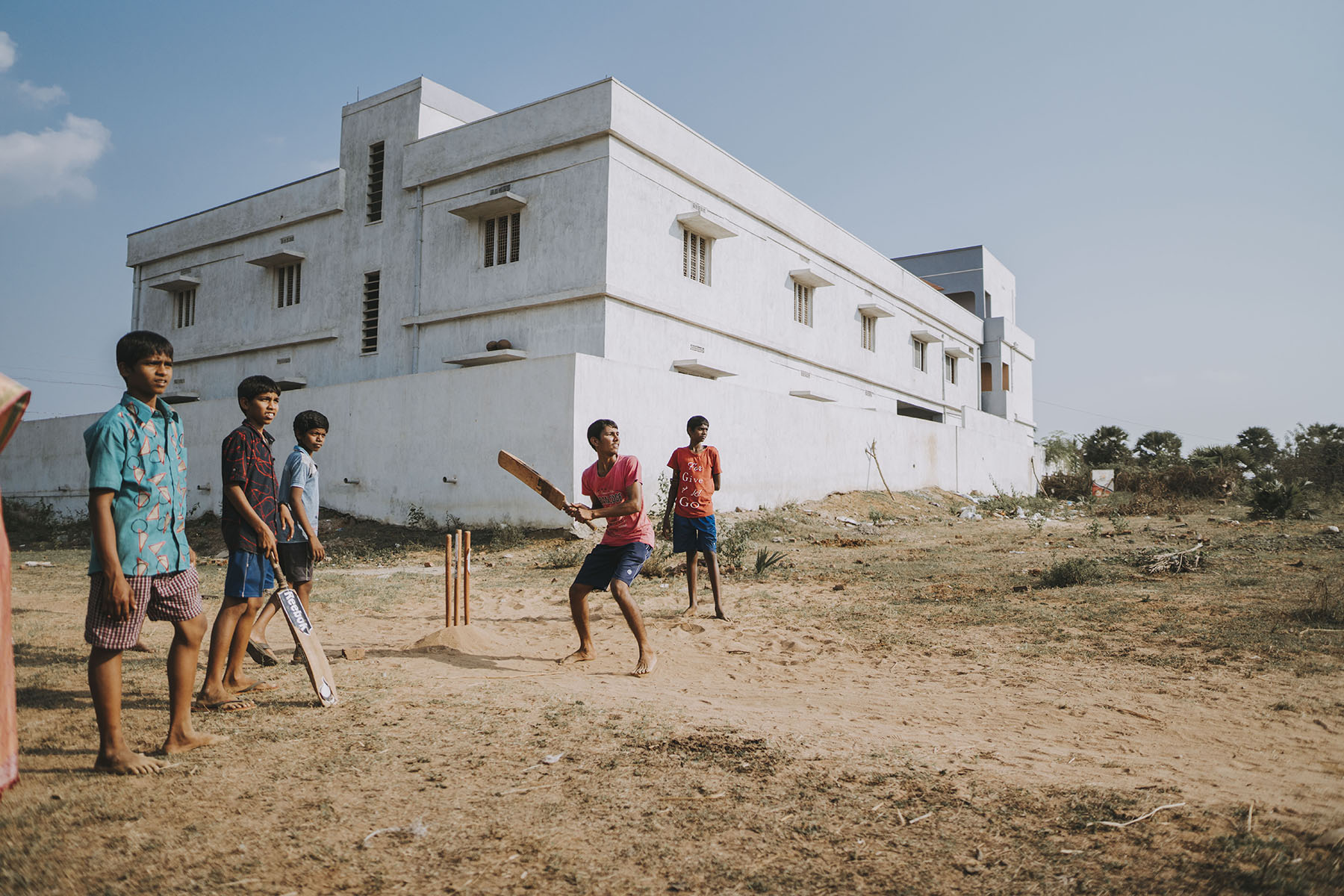 Travel Photographer, Hannah Bergman Photography, India, Cricket