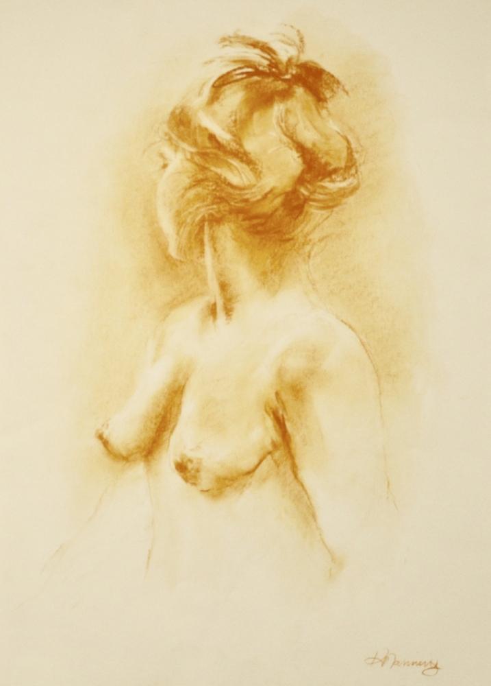Nude:  Studio Study