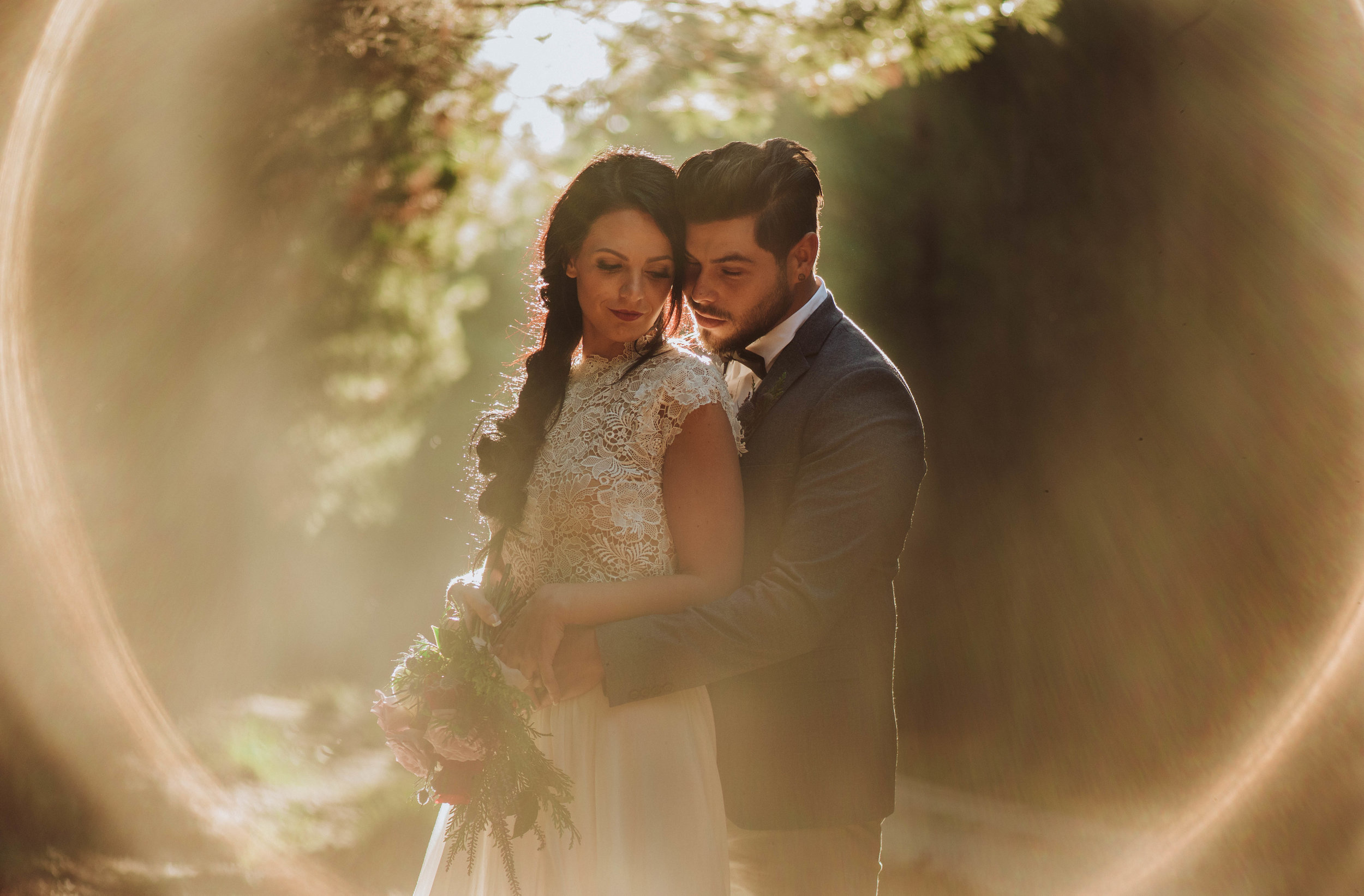 Love in the Forest - Southern Highlands Styled Bridal Session    15th October 2017