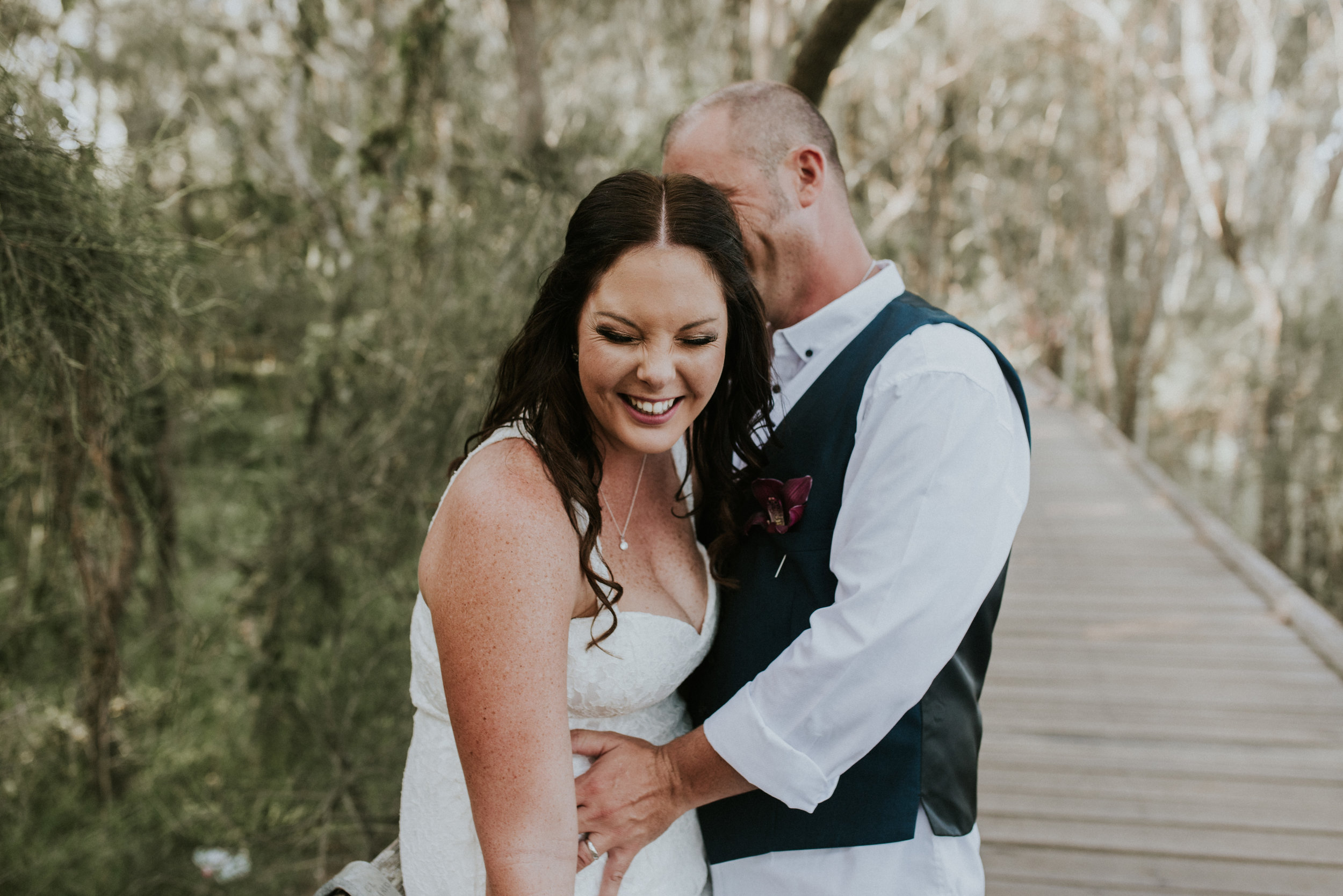 Bec & Chris - Lagoon Seafood Restaurant Wollongong Intimate Wedding    3rd March 2018