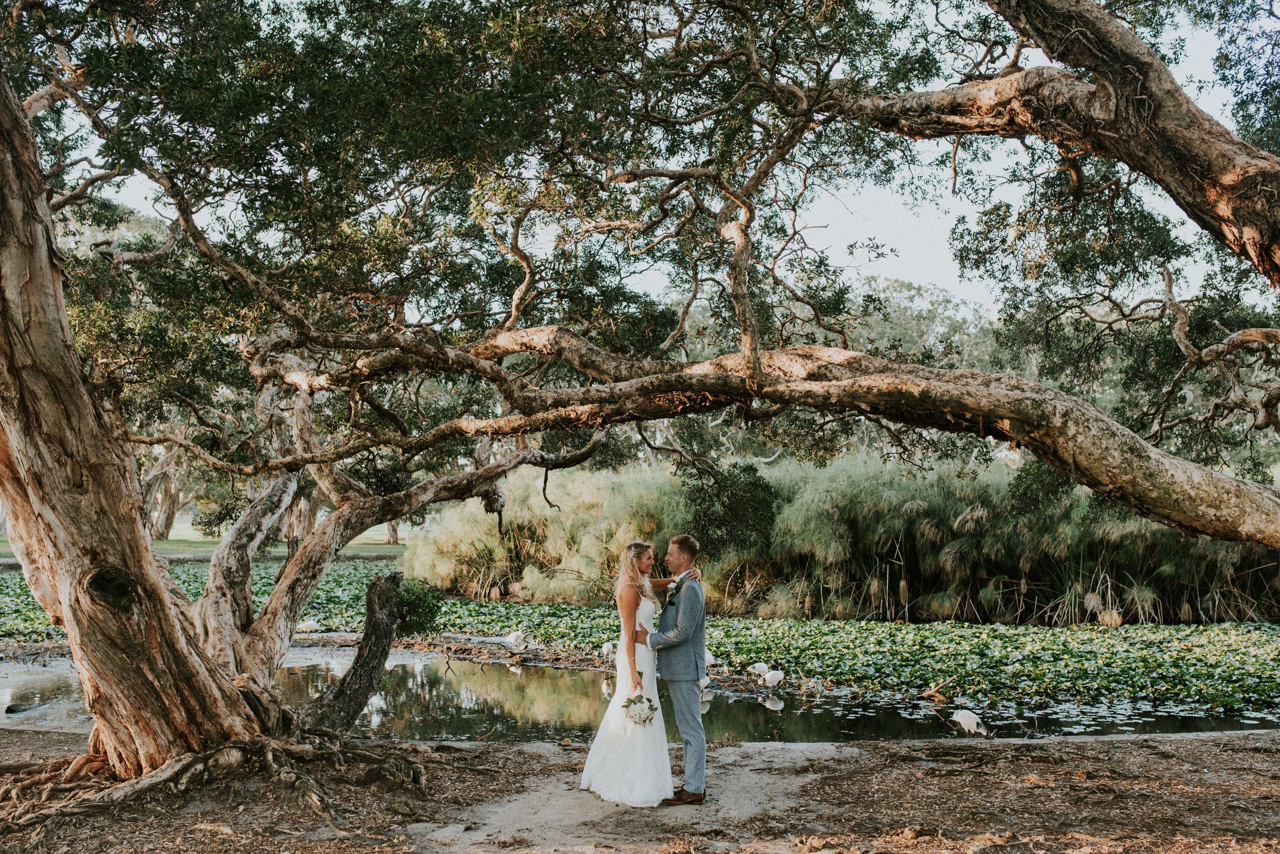 Hes & Styve - Centennial Parklands, Sydney Cocktail Wedding    7th April 2018