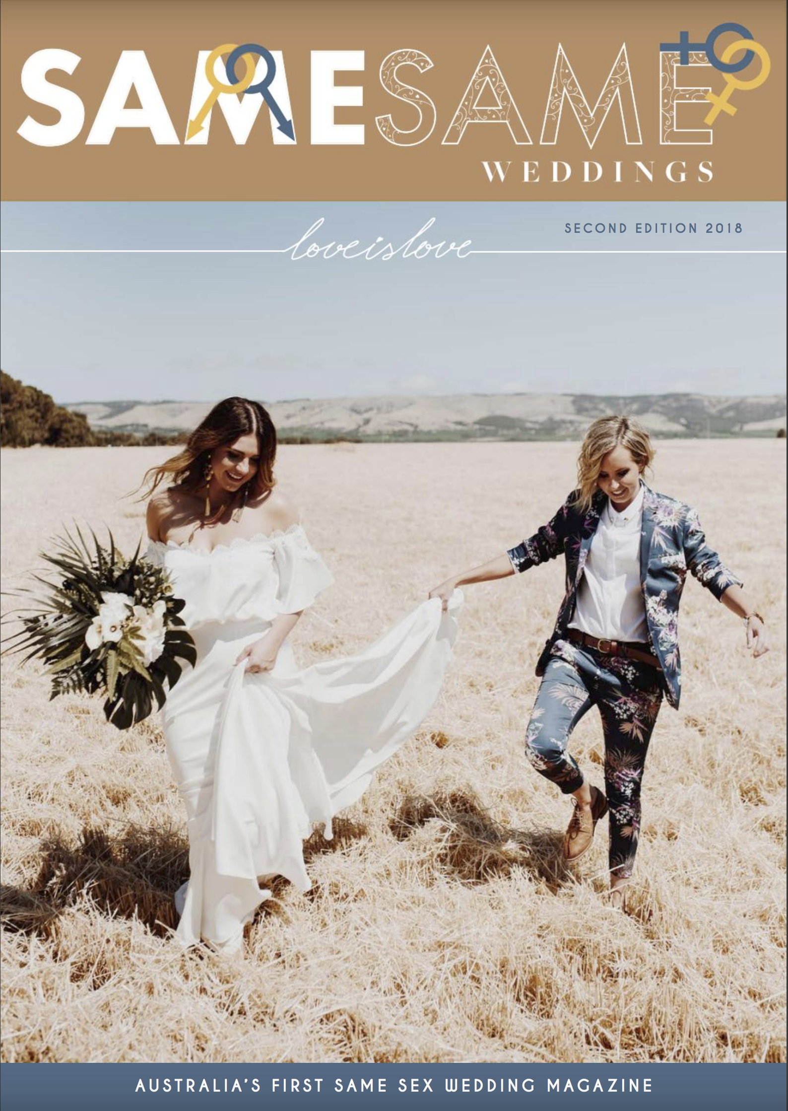 Amy & Nicole - Wollongong Engagement    [Magazine]  Feature , pg. 174 - 4th July 2018