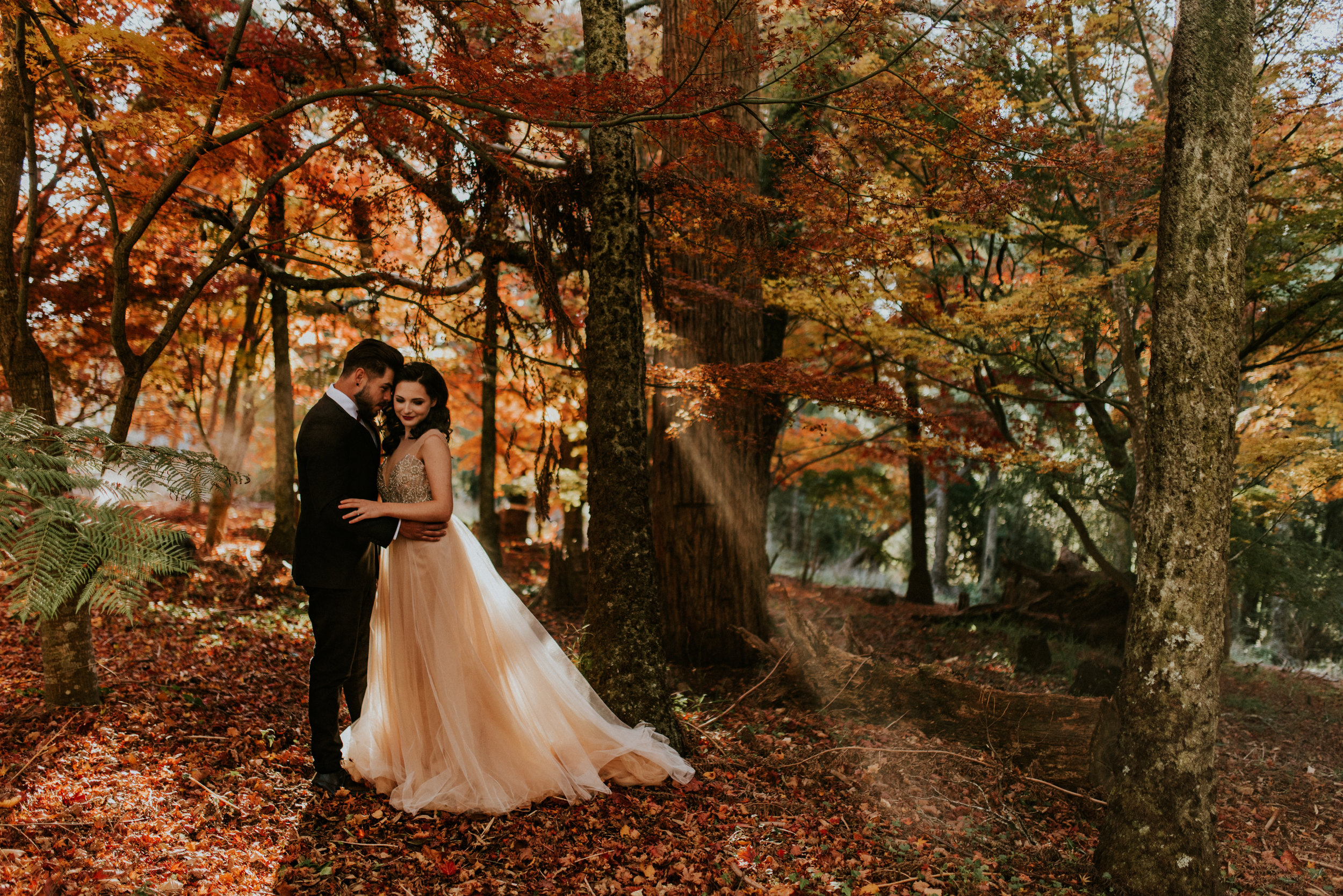 Autumn-Inspired Blue Mountains Styled Bridal Session     20th May 2018