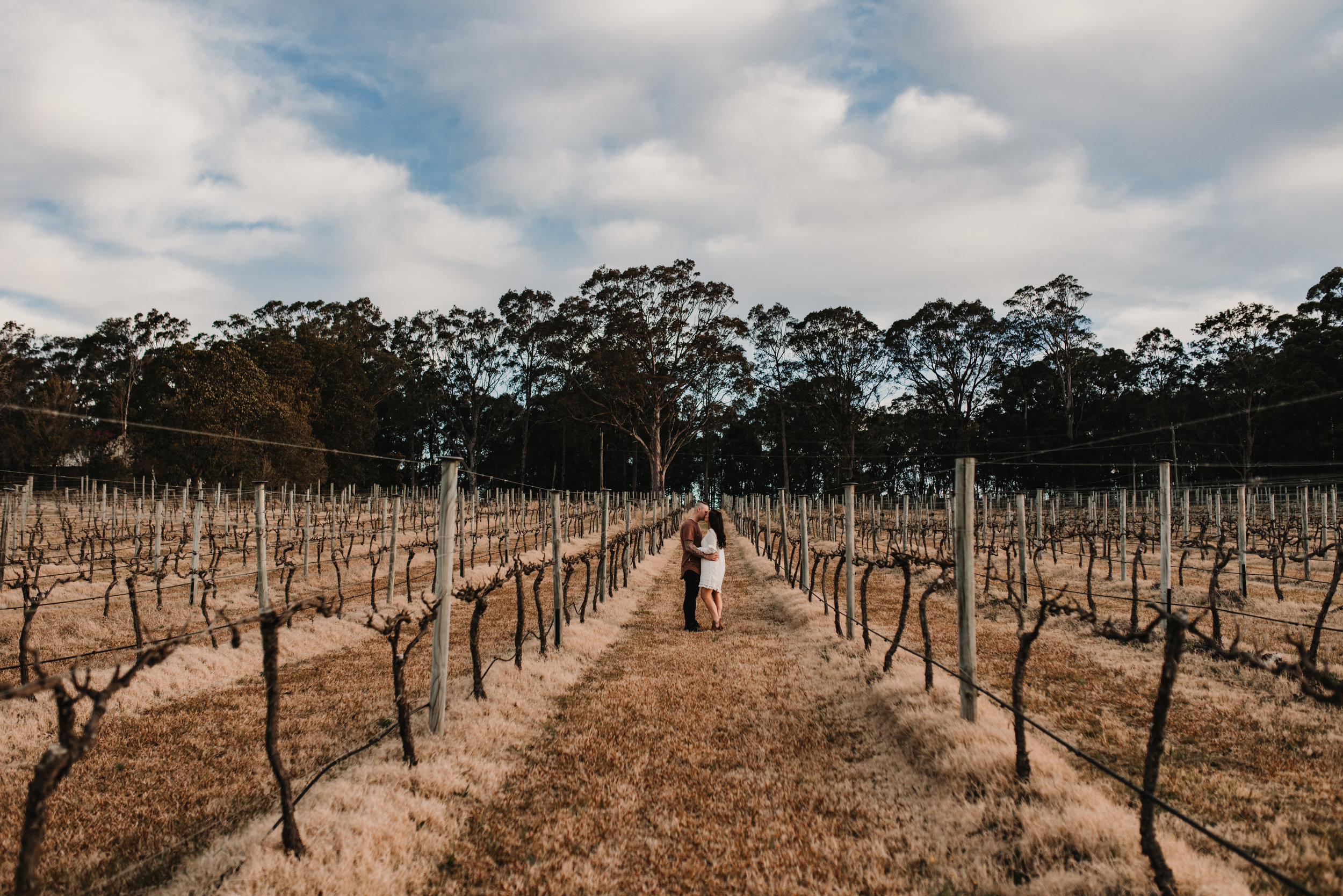 Samantha & Troy - Cambewarra Estate Engagement    19th August 2018