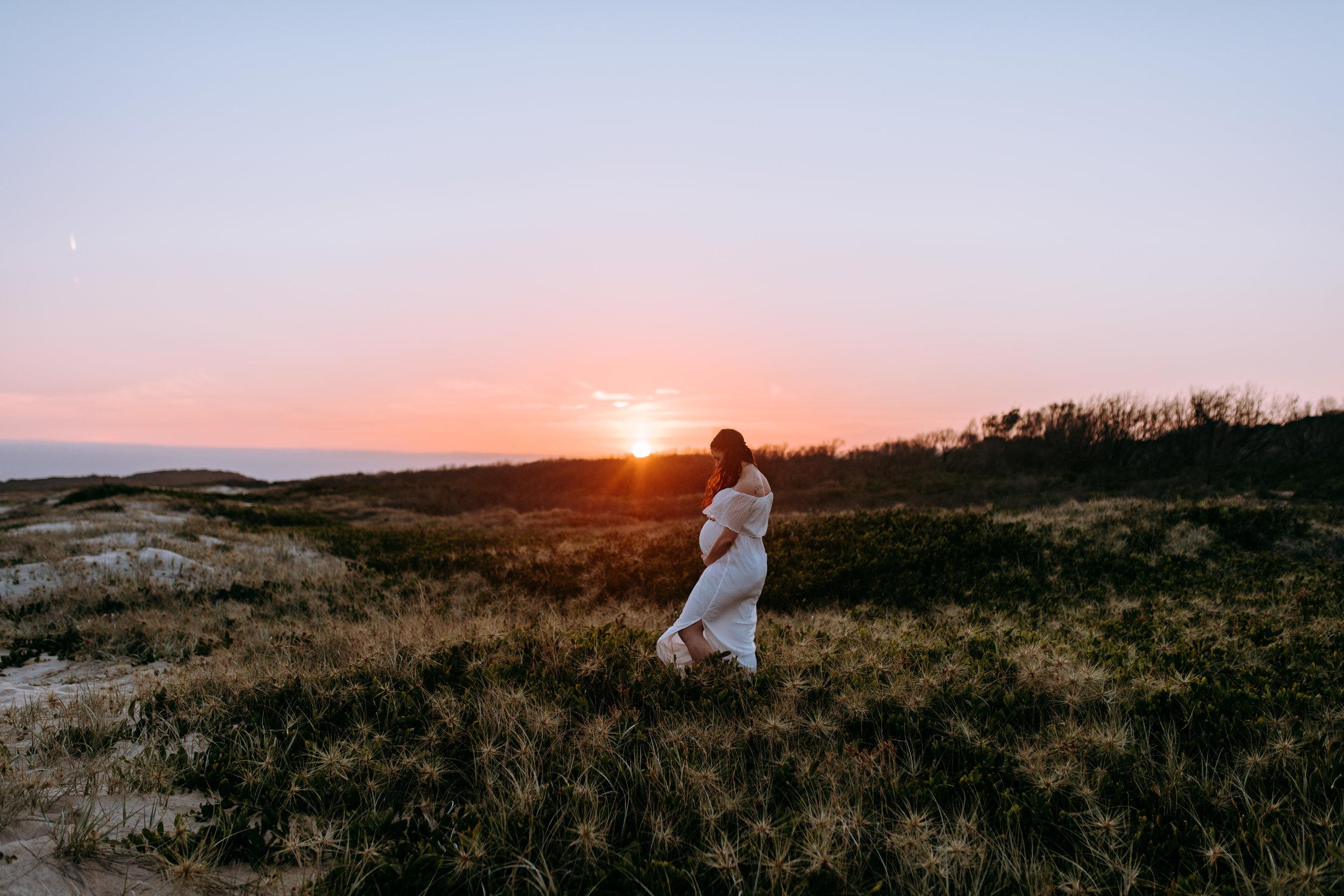 Tahlia & Michael - Wollongong Sunset Maternity    22nd October 2018