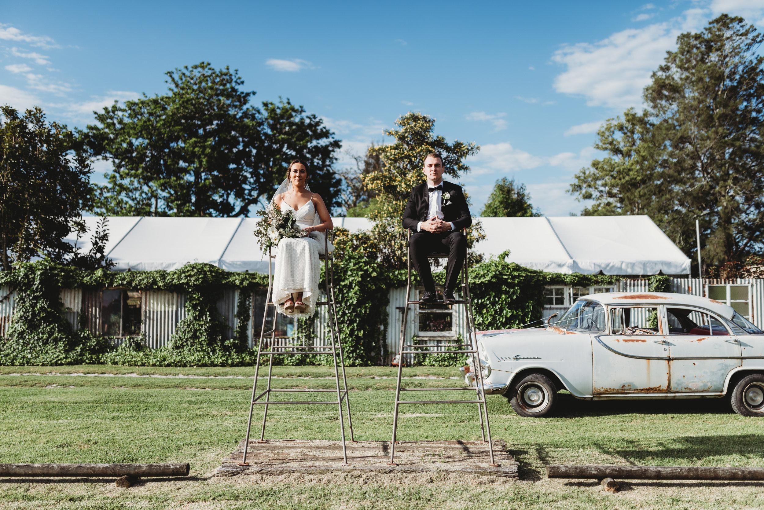 Ellen & Alan - Driftwood Shed Wedding     10th November 2018