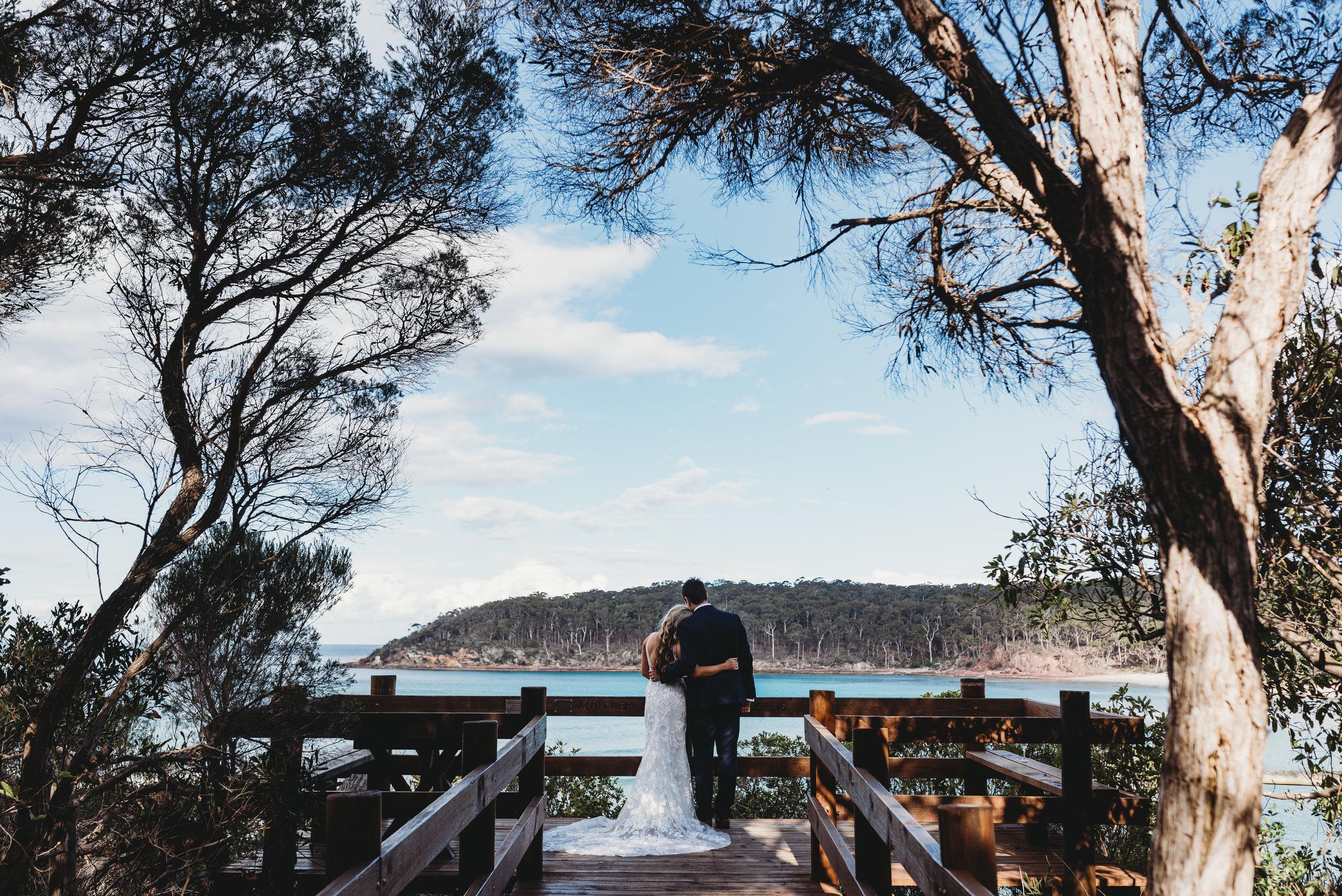 Amy & Troy - Pambula River Mouth & Merimbula Aquarium Wedding    22nd December 2018