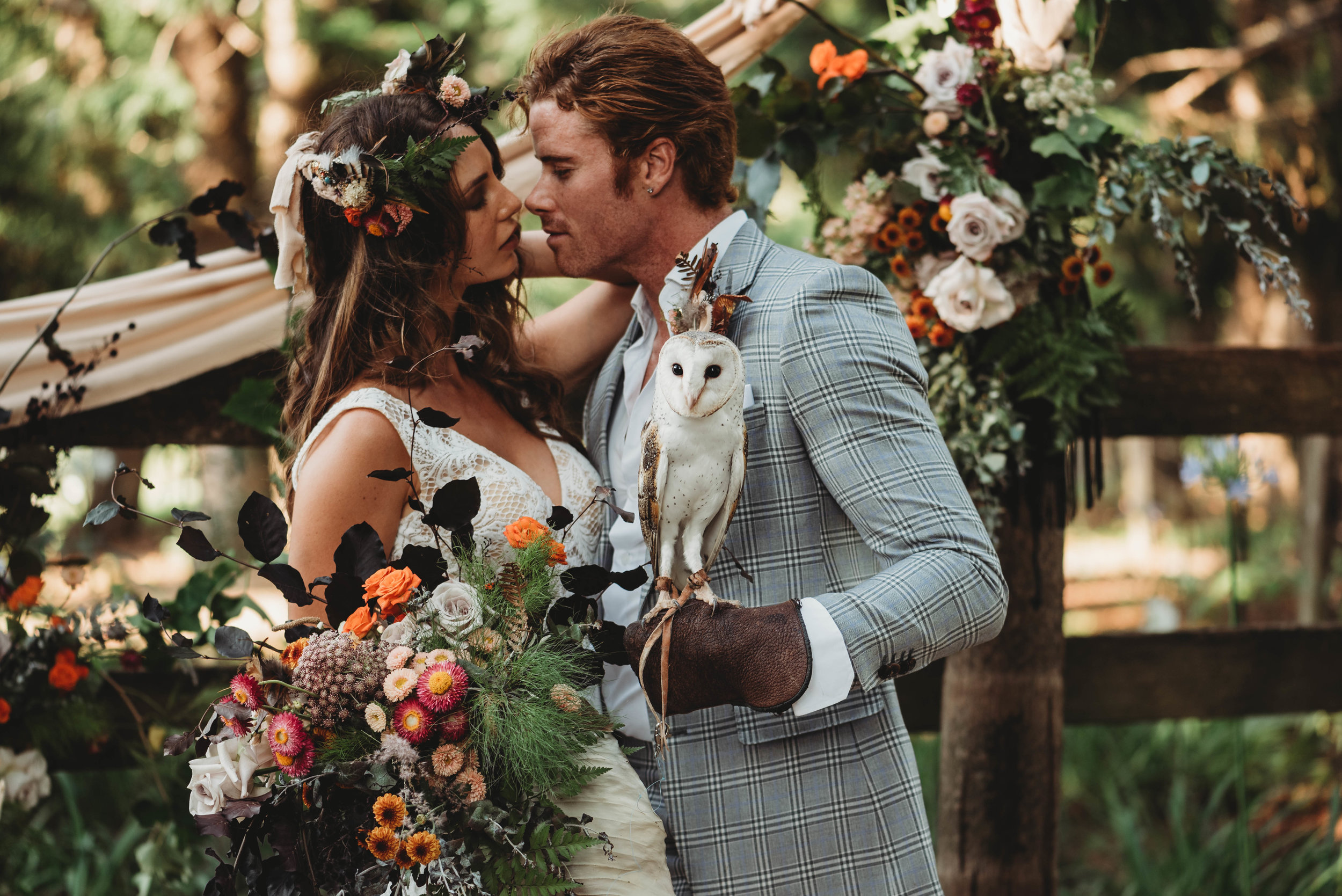 Montville Country Cabins - Sunshine Coast Styled Wedding    2nd December 2018