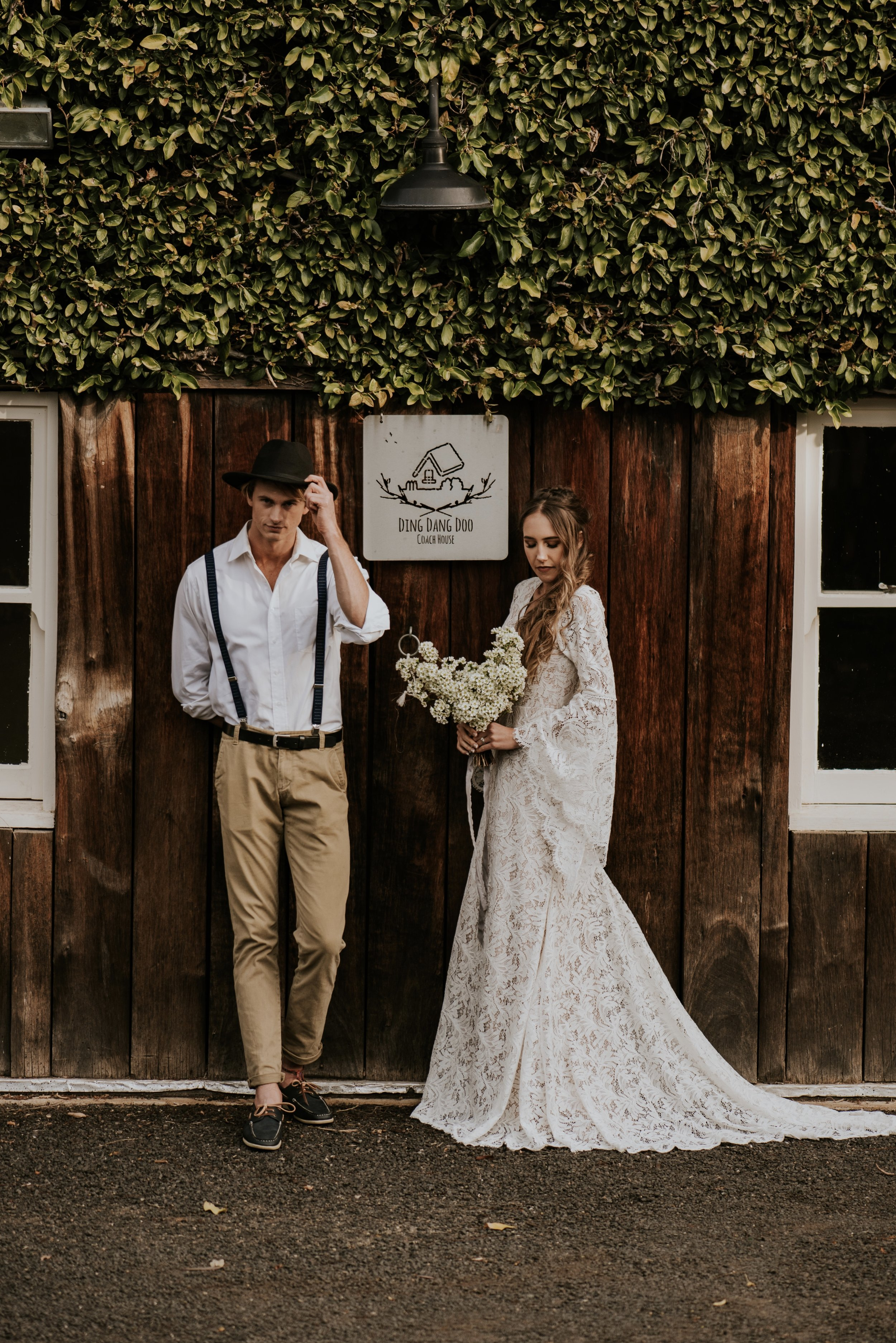 Ding Dang Doo Ranch - Blue Mountains Wedding    9th September 2018