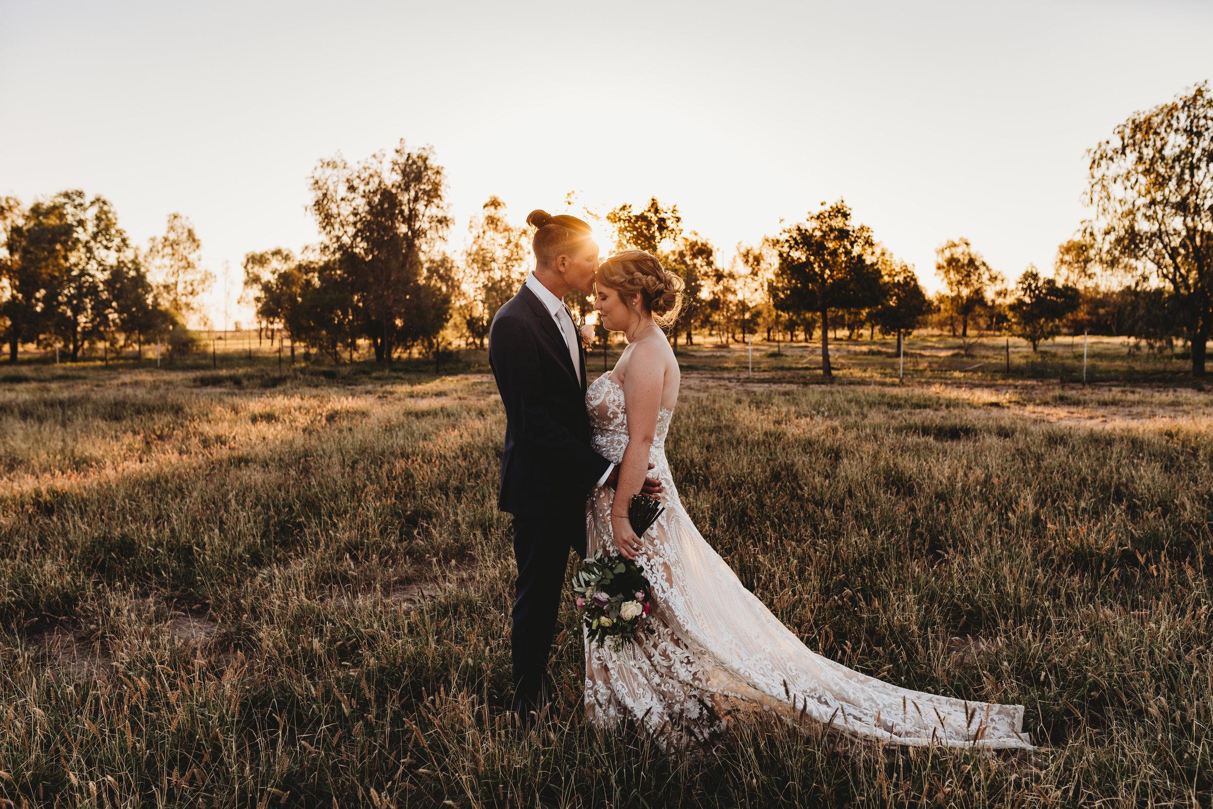 Sharni & Malcolm - Goondiwindi, QLD Country Wedding    1st December 2018