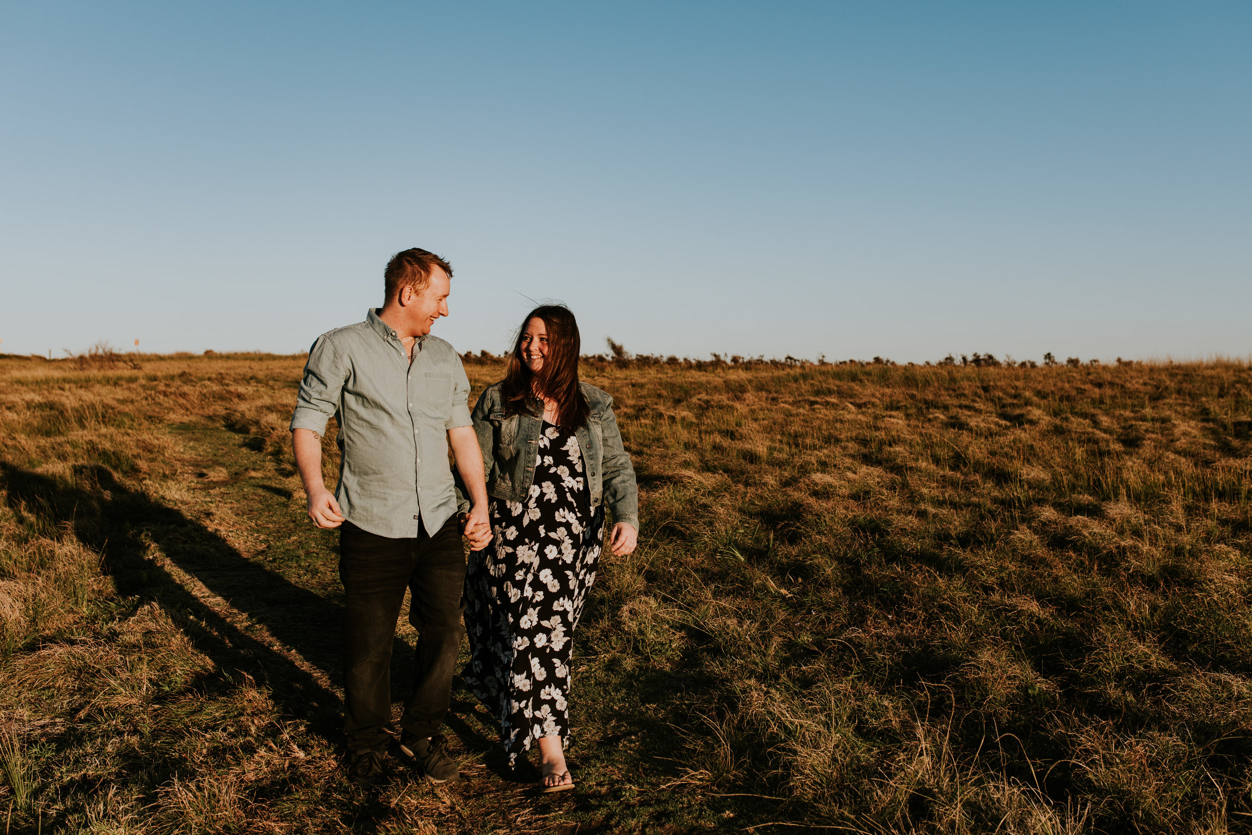 Jacqui & Jason - Windang Beach Sunset Engagement    16th September 2018