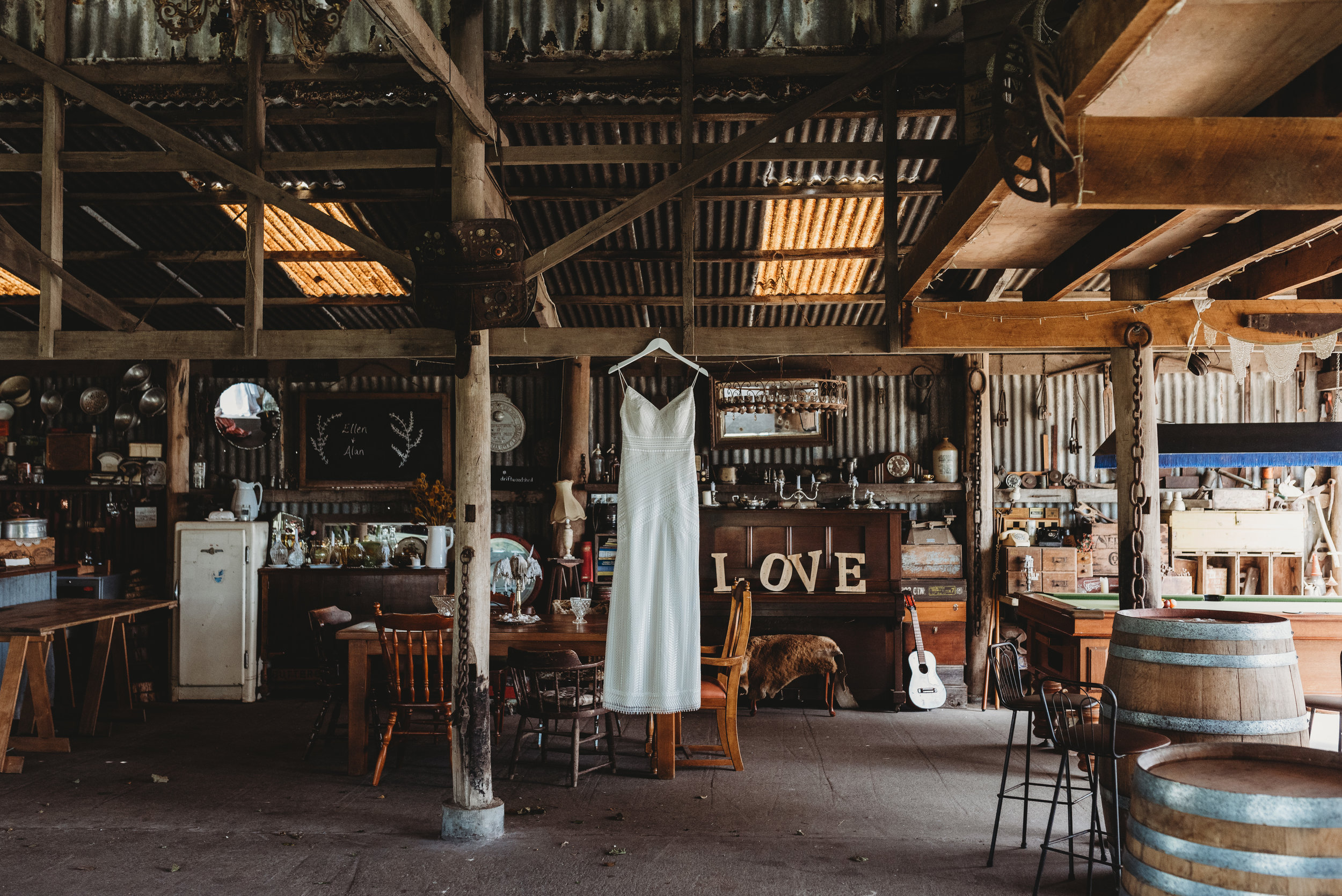 Venue -   Driftwood Shed